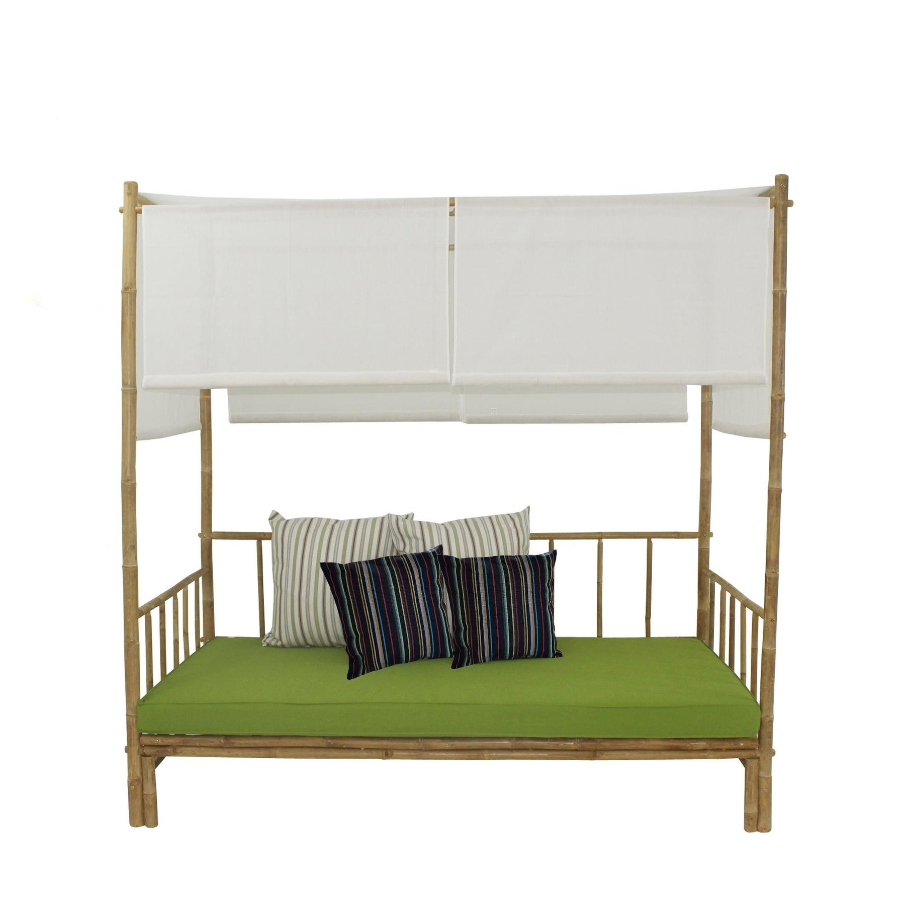 Bamboo Daybed With Canopy Throughout Most Popular Bamboo Daybeds With Canopy (View 5 of 25)
