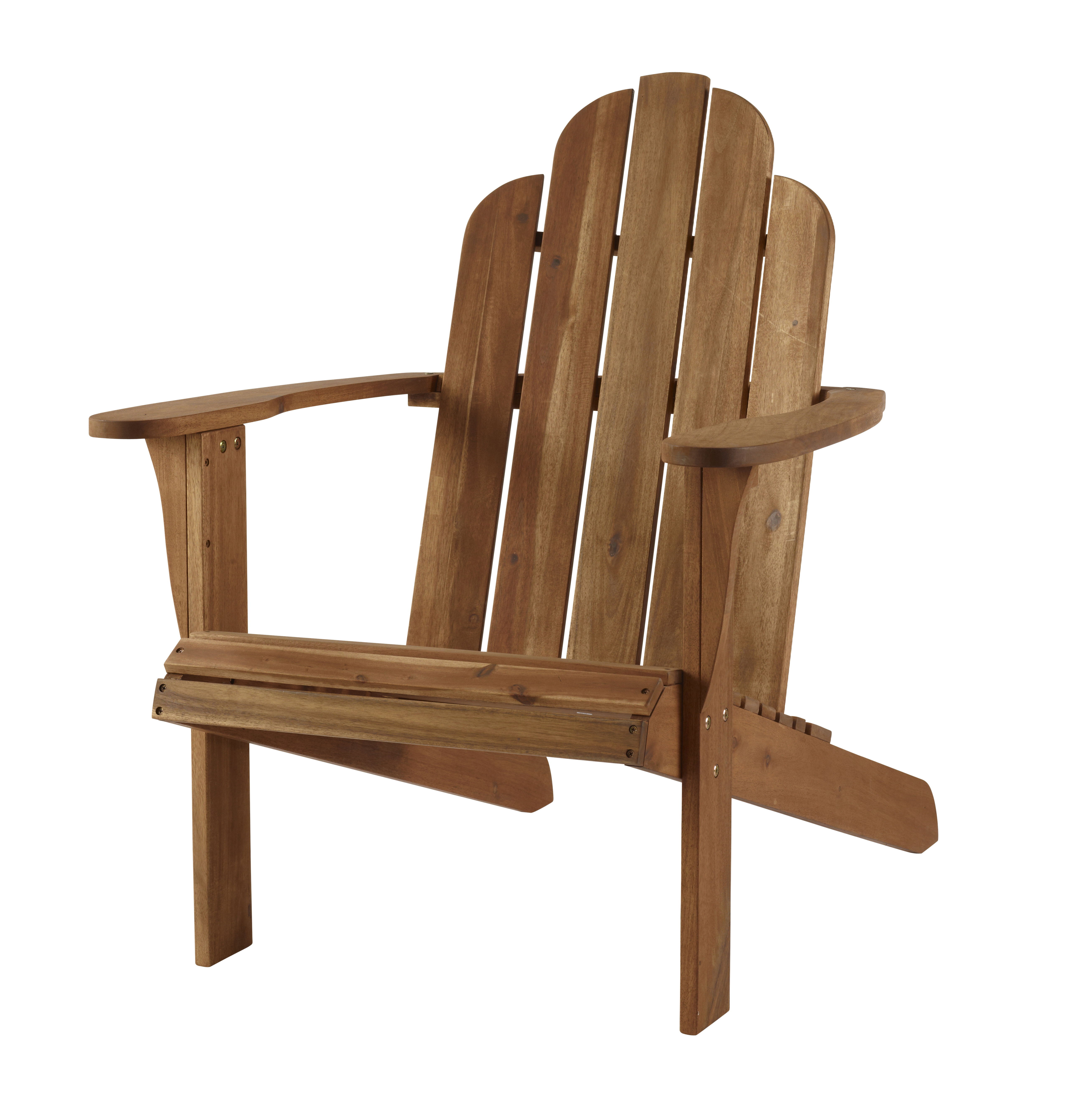 Beachcrest Home Knowlson Solid Wood Adirondack Chair With Regard To Trendy Mahogany Adirondack Chairs With Ottoman (View 12 of 25)