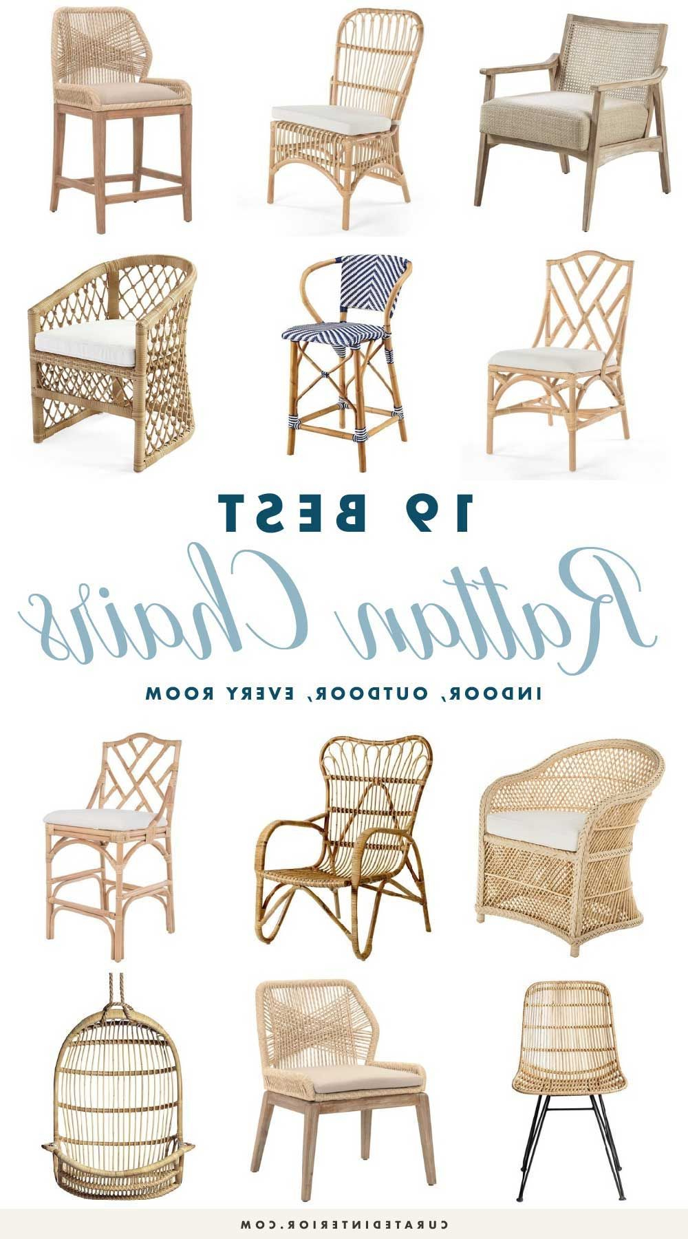 Best And Newest 19 Best Rattan Chairs For Every Space In Your Home (View 19 of 25)