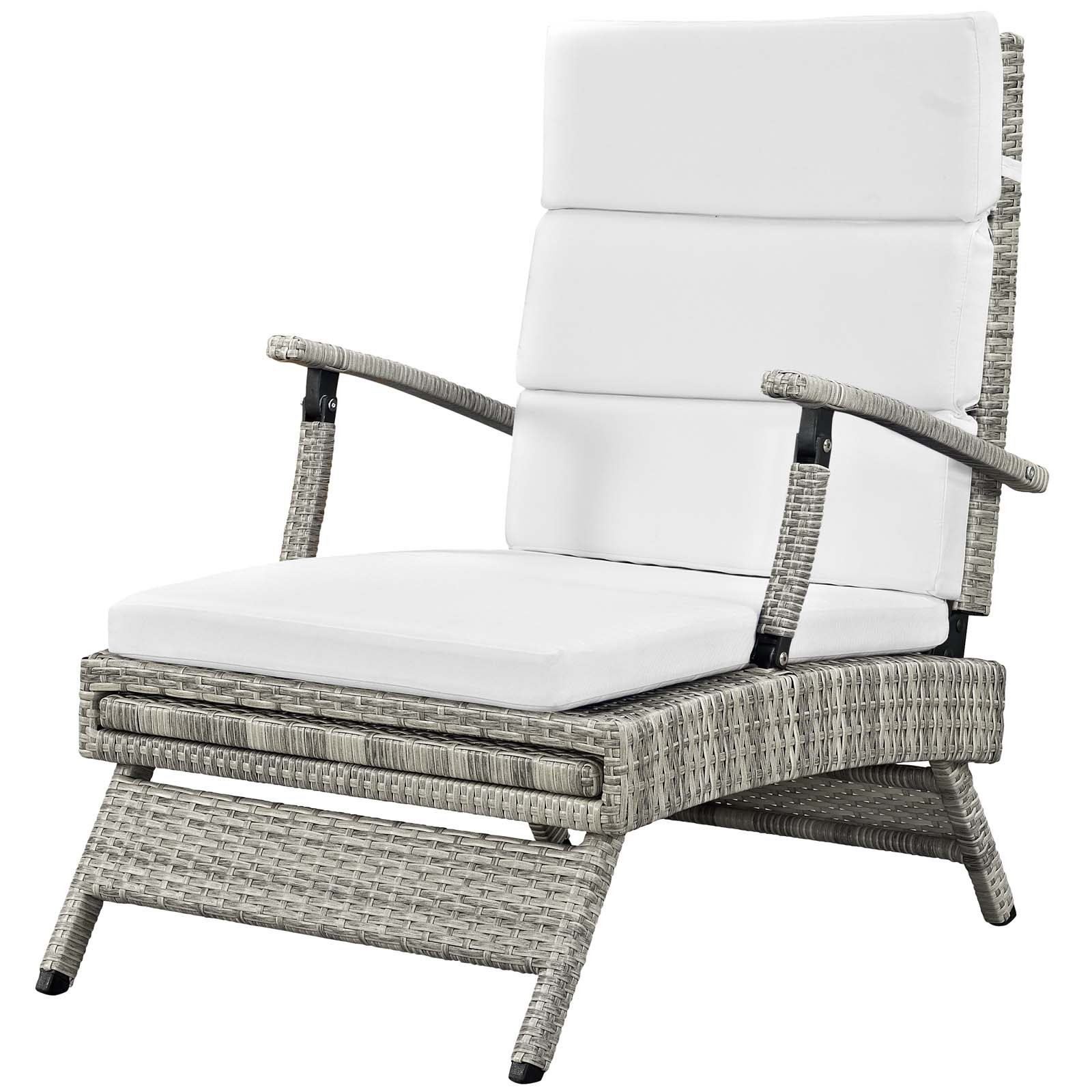 Best And Newest Envisage Chaise Outdoor Patio Wicker Rattan Lounge Chairs Within Envisage Chaise Outdoor Patio Wicker Rattan Lounge Chair (View 5 of 25)