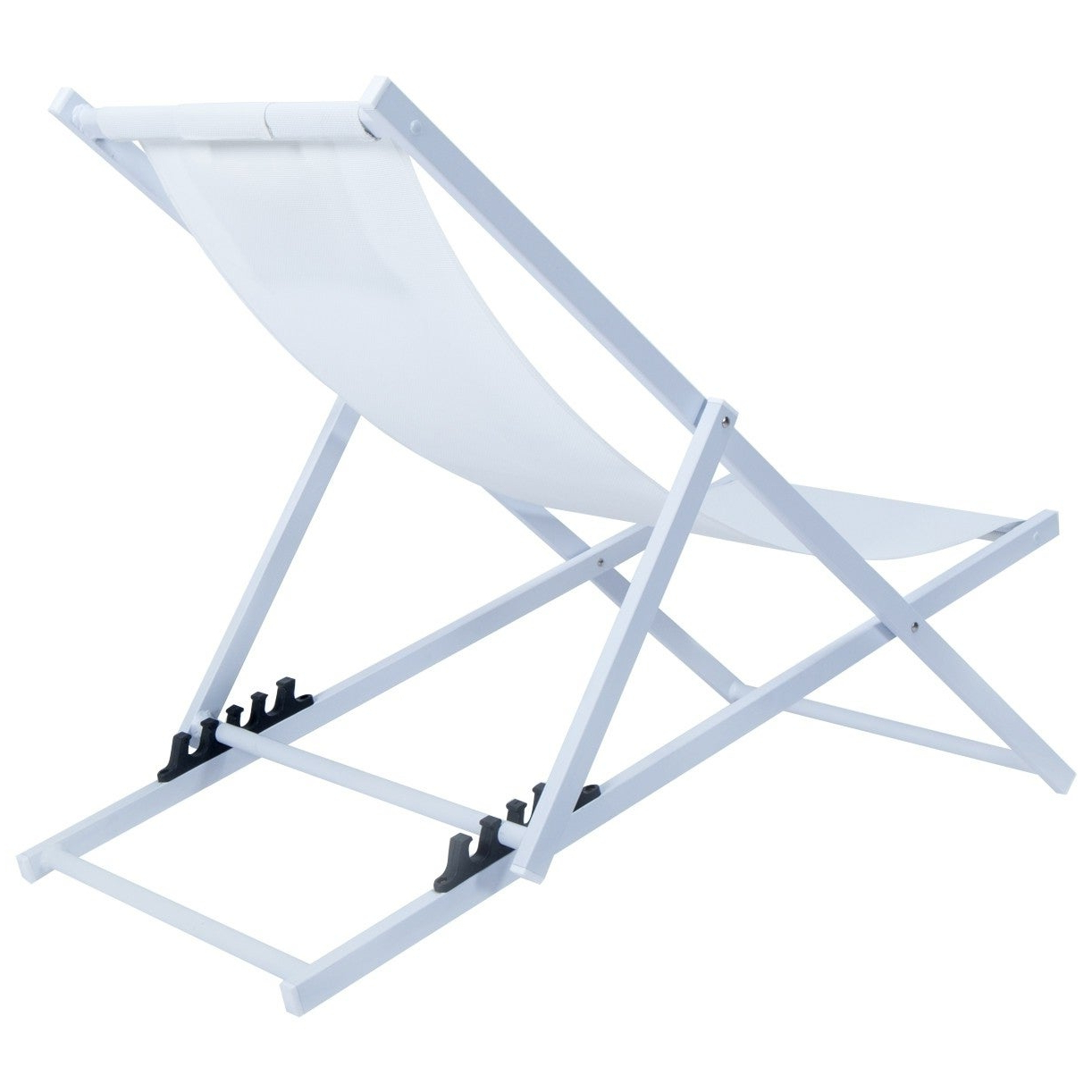 Best And Newest Leisuremod Sunset Patio Sling Folding Chair Adjustable With Headrest Regarding Sunset Patio Sling Folding Chairs With Headrest (Gallery 7 of 25)