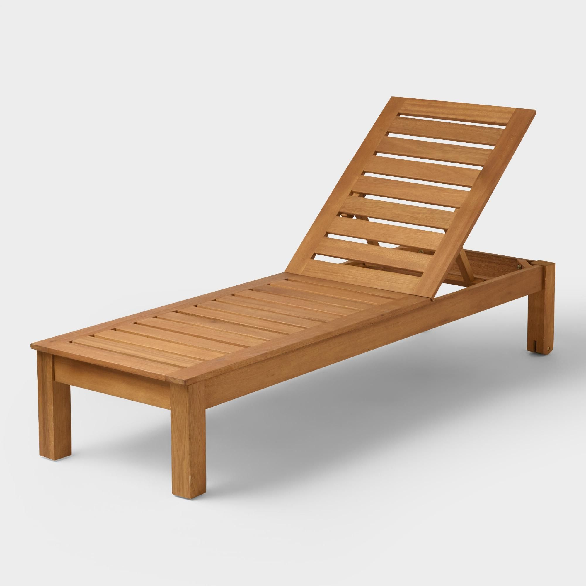 Best And Newest Outdoor Living Inglewood Brown Acacia Wood Beige Cushion Lounge Chairs With Regard To The Bold Beauty Of Our Contemporary Pool Lounger Comes From (View 5 of 25)