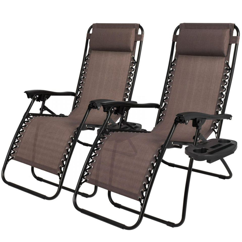 Best And Newest Oversized Extra Large Chairs With Canopy And Tray For The 6 Best Zero Gravity Chairs (View 4 of 25)