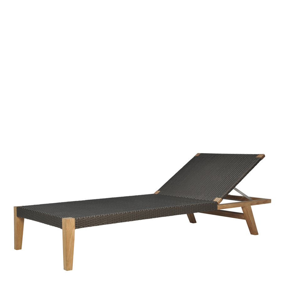 Best And Newest Quinta Teak / Woven Chaise Lounge – Janus Et Cie Inside Teak Chaise Loungers (View 24 of 25)