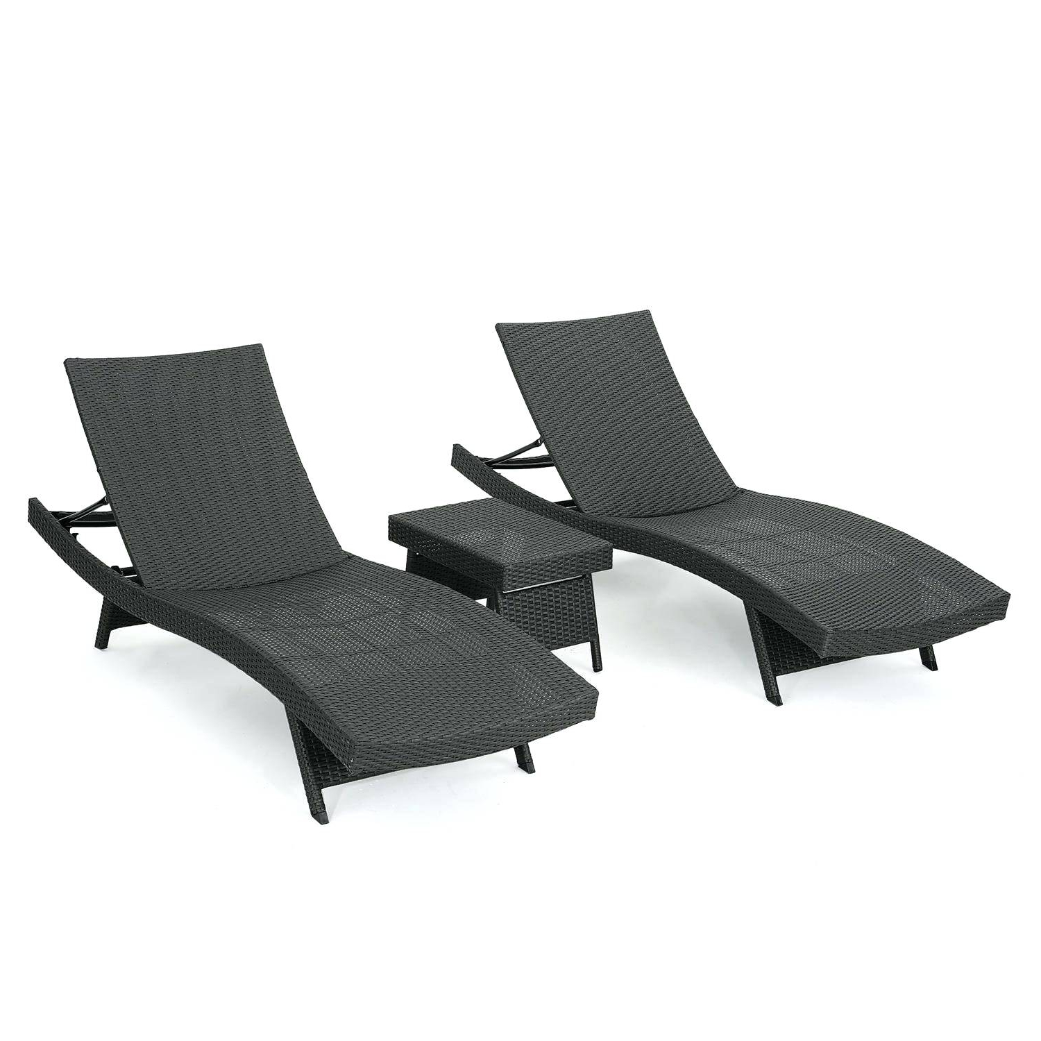 Biscayne White Chaise Lounge Chairs Pertaining To Favorite All Weather Wicker Chaise Crosley Biscayne Lounge With White (View 17 of 25)