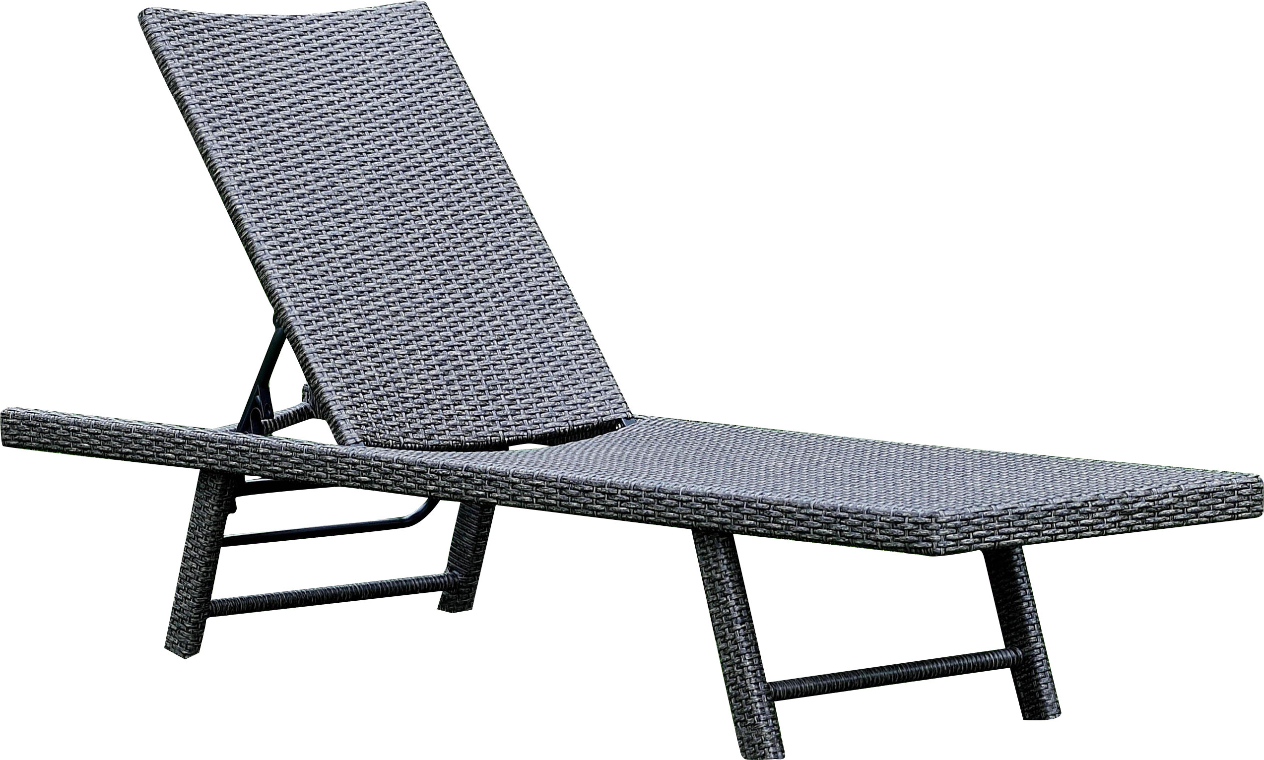Boveney Multi Position Chaise Lounge Within Trendy Resin Wicker Multi Position Chaises (View 4 of 25)