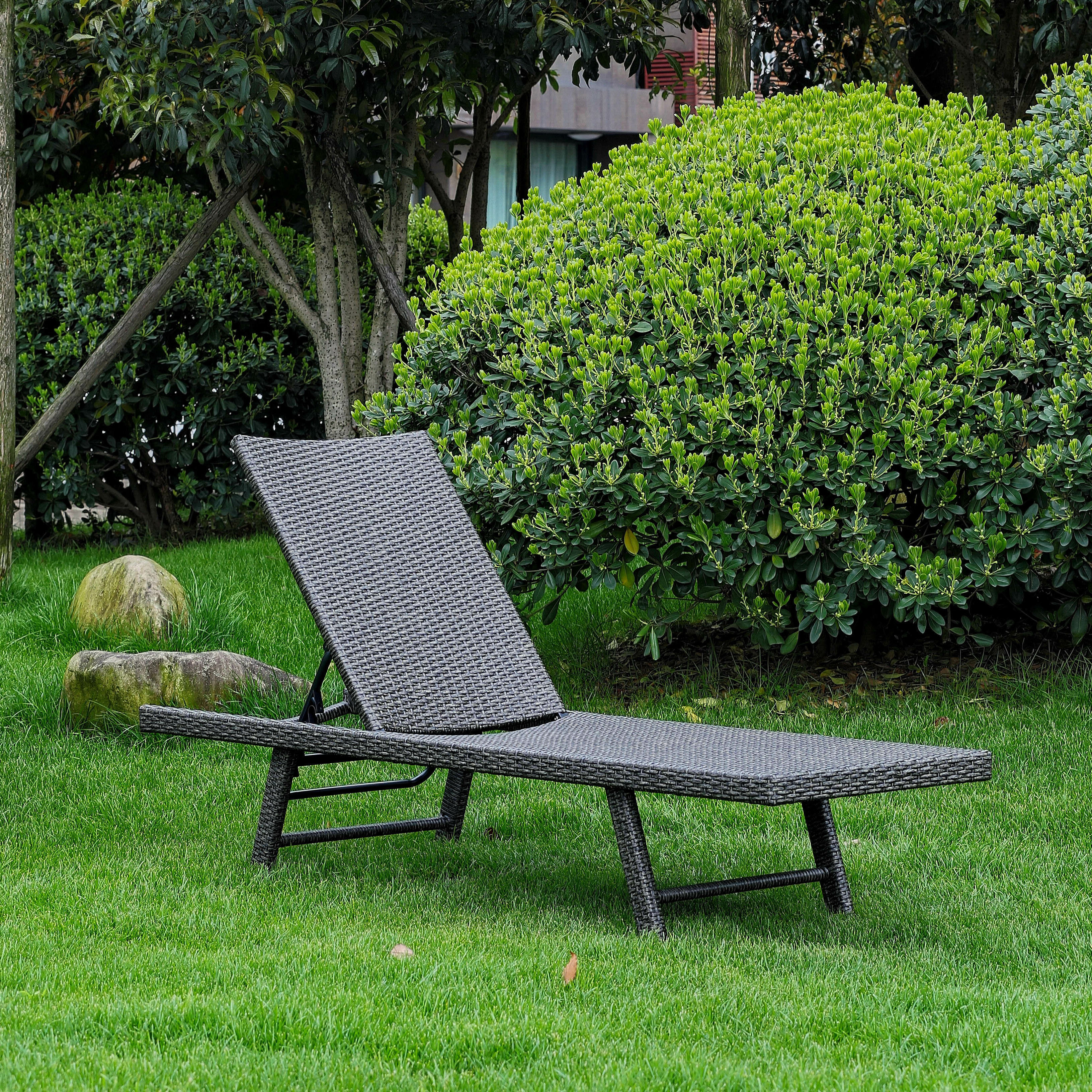 Boveney Multi Position Reclining Chaise Lounge Within Popular Multi Position Iron Chaise Lounges (Gallery 10 of 25)