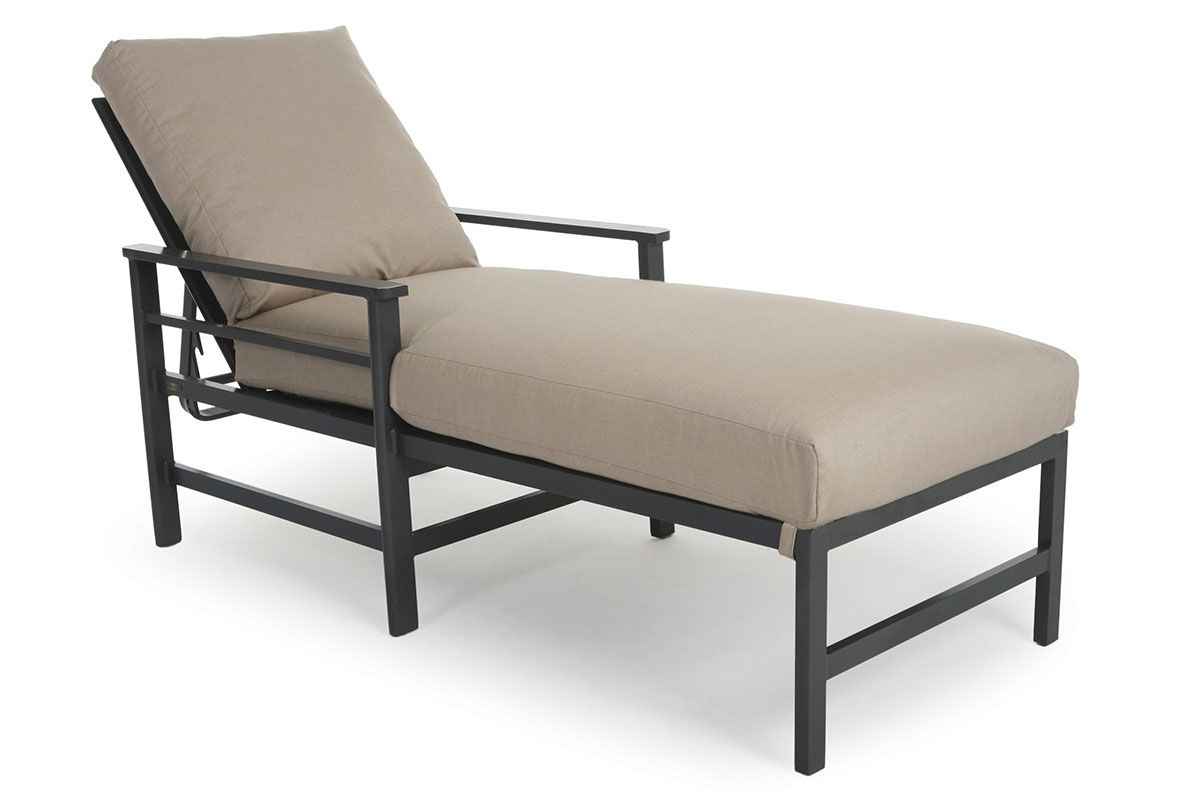 Chaise Lounge Chairs In Bronze With Mist Cushions With Best And Newest Sarasota Cushion Chaise So (View 24 of 25)