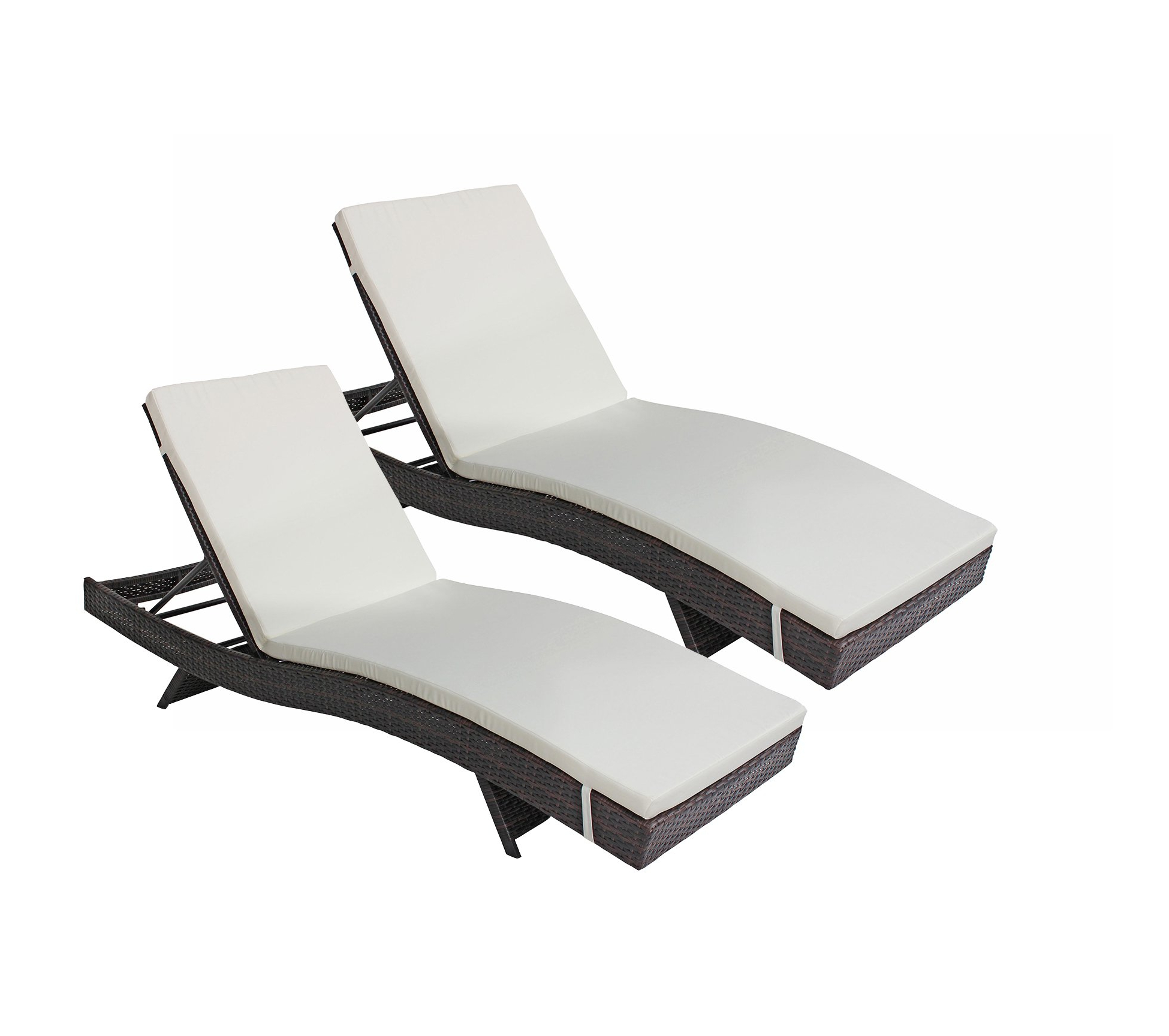 Cheap Modern Outdoor Chaise Lounge Chairs, Find Modern Throughout Well Known All Weather Single Outdoor Adjustable Loungers (View 15 of 25)