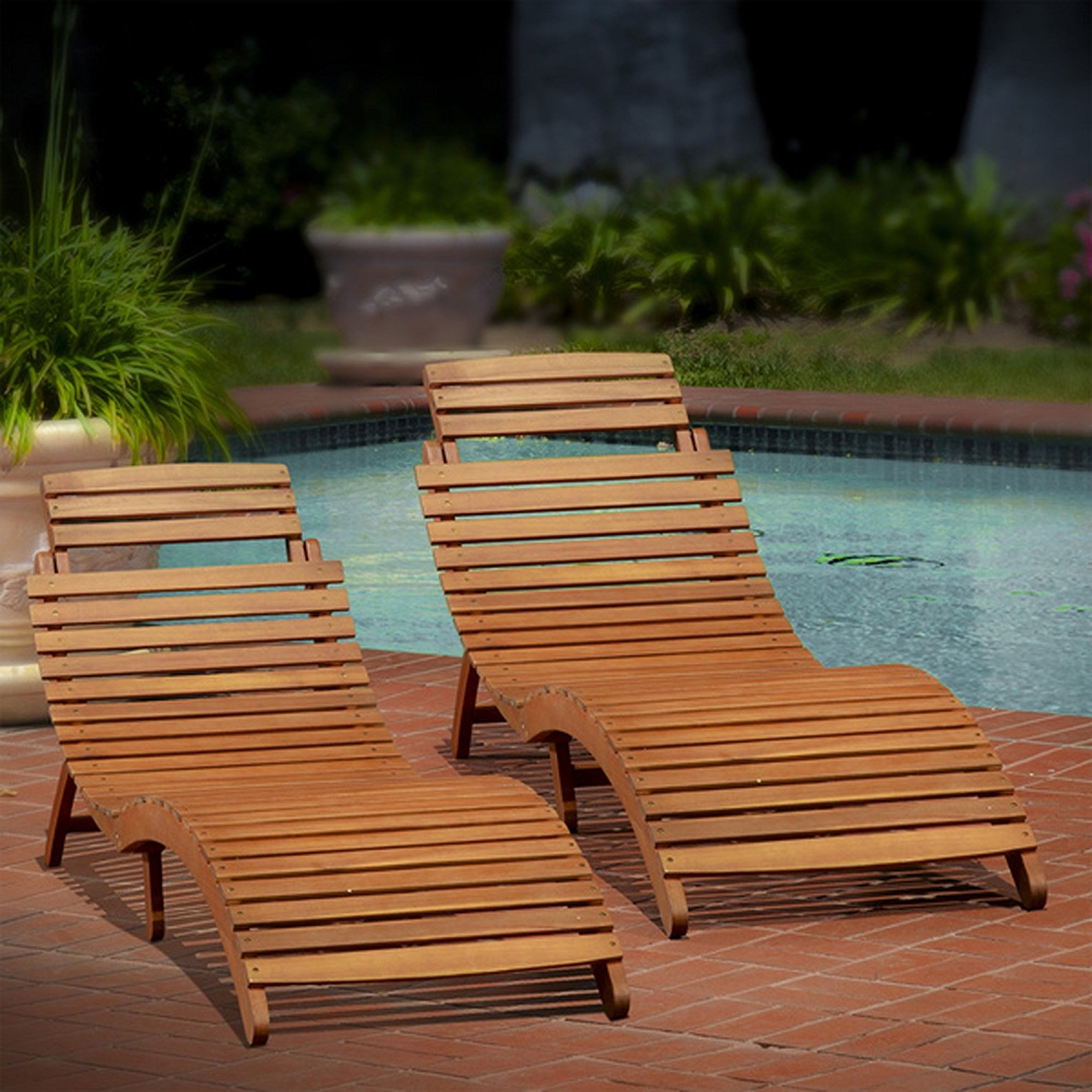 Cheap Wood Chaise Lounge Outdoor, Find Wood Chaise Lounge With Regard To Widely Used Outdoor Acacia Wood Chaise Lounges And Cushion Sets (View 4 of 25)