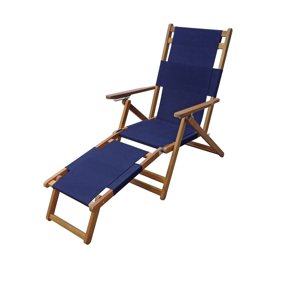 Corliving Riverside Textured Loungers Pertaining To Most Current Beach Chair With Leg Rest Blue (View 24 of 25)