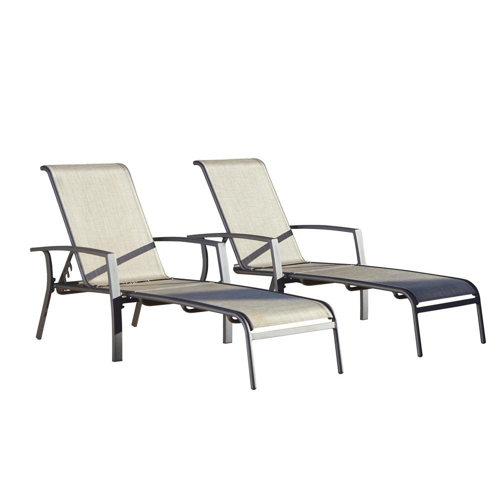 Featured Photo of Cosco Outdoor Aluminum Chaise Lounge Chairs