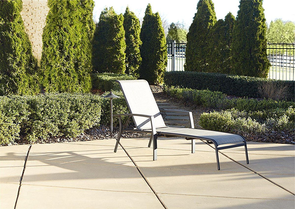 Cosco Outdoor Aluminum Chaise Lounge Chairs Regarding Well Known Cosco Outdoor Adjustable Aluminum Chaise Lounge Chair Serene (View 4 of 25)