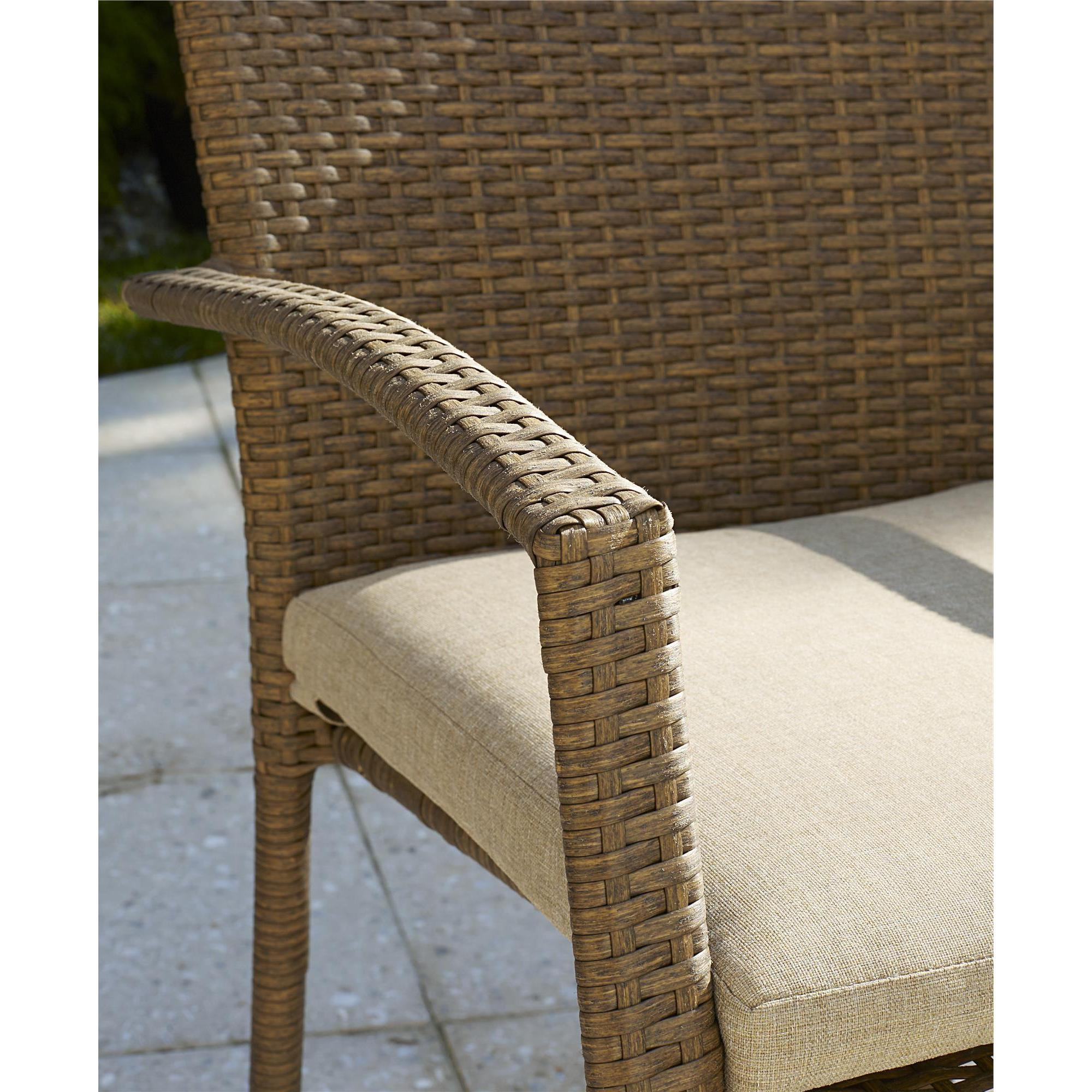 Cosco Outdoor Steel Woven Wicker High Top Bistro Set Intended For Popular Cosco Outdoor Steel Woven Wicker Chaise Lounge Chairs (View 23 of 25)