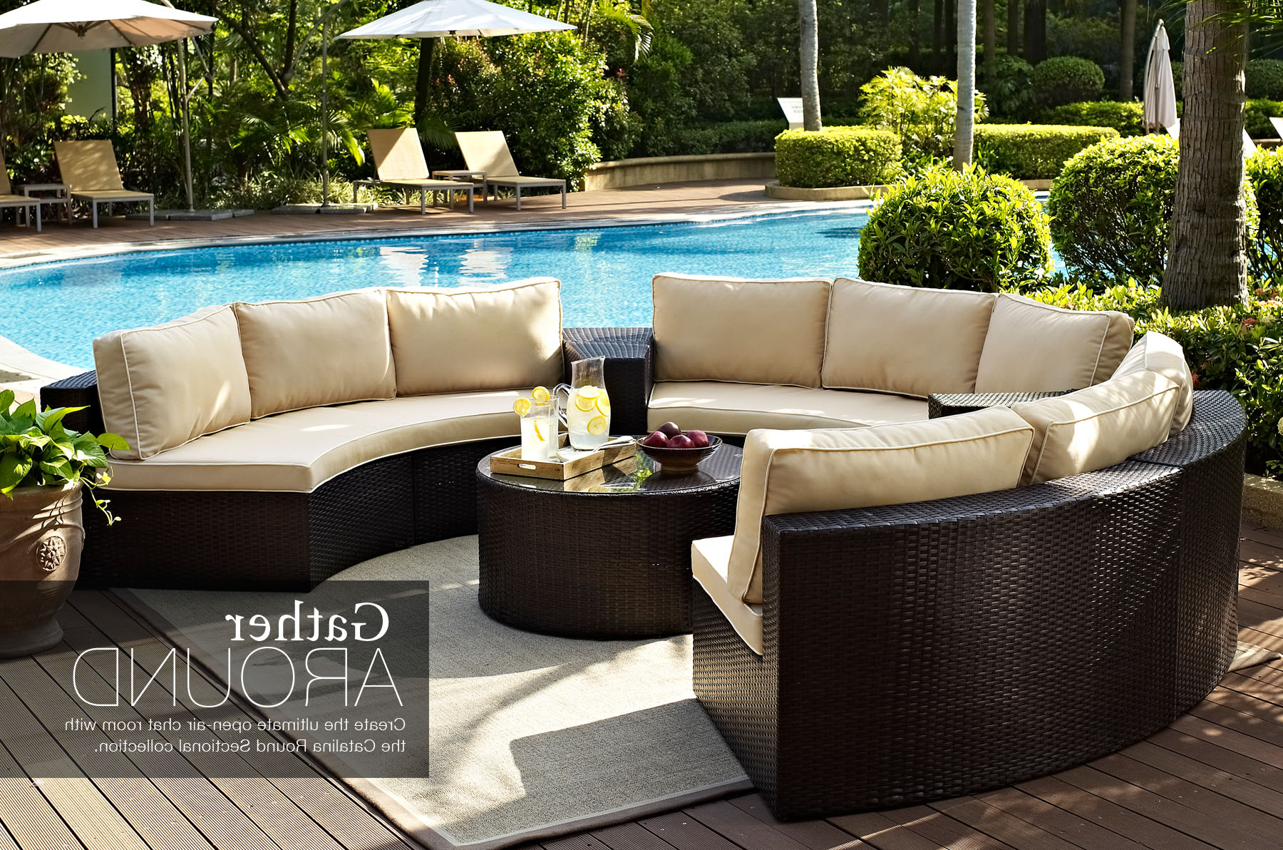 Current Bradenton Outdoor Wicker Chaise Lounges With Cushions For Home Page (View 18 of 25)