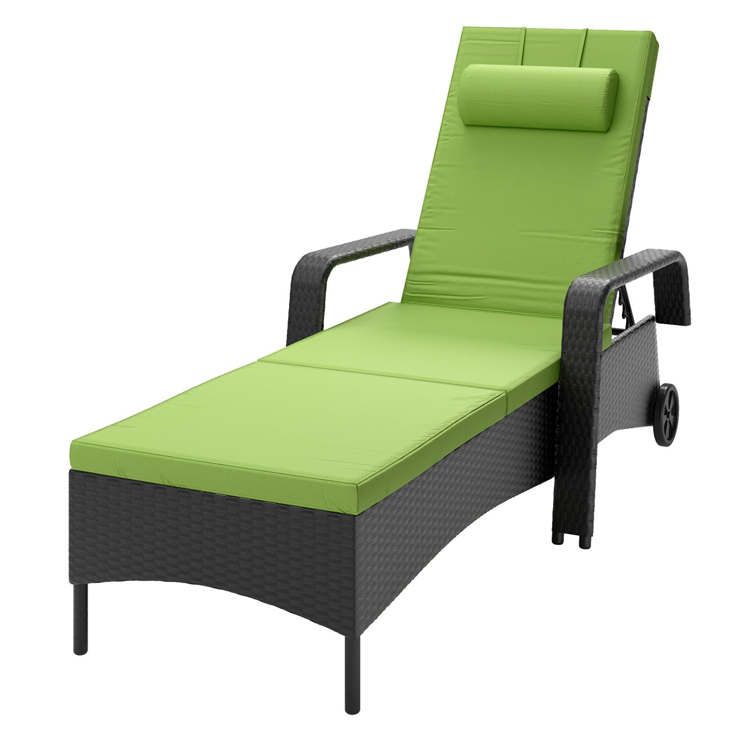 Current Buy Corliving Prs 830 R Riverside Patio Reclining Lounger Pertaining To Corliving Riverside Textured Loungers (View 7 of 25)