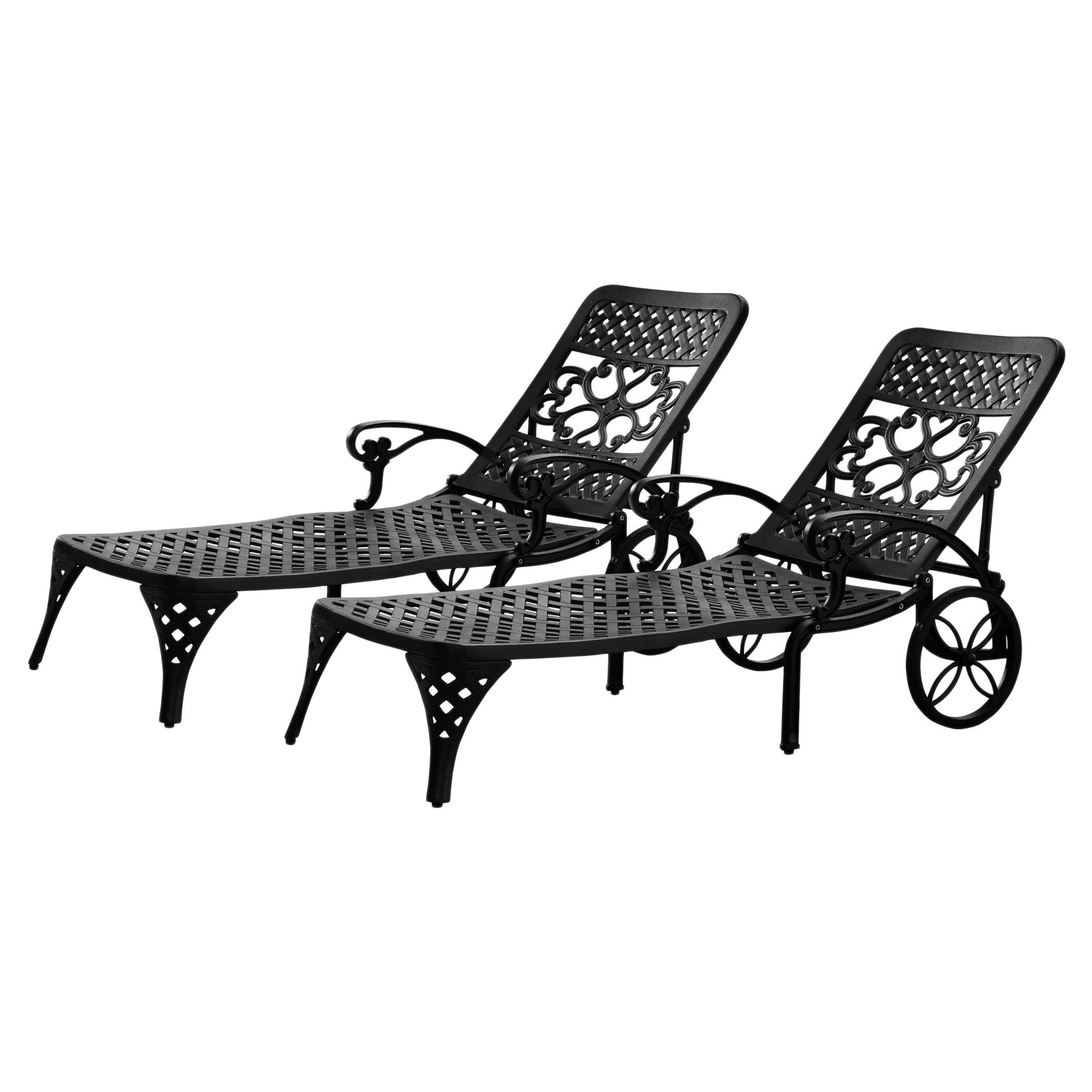 Current Havenside Home Fenwick Chaise Lounge Chairs With Regard To Havenside Home Fenwick Chaise Lounge Chairs (set Of 2) (View 16 of 25)