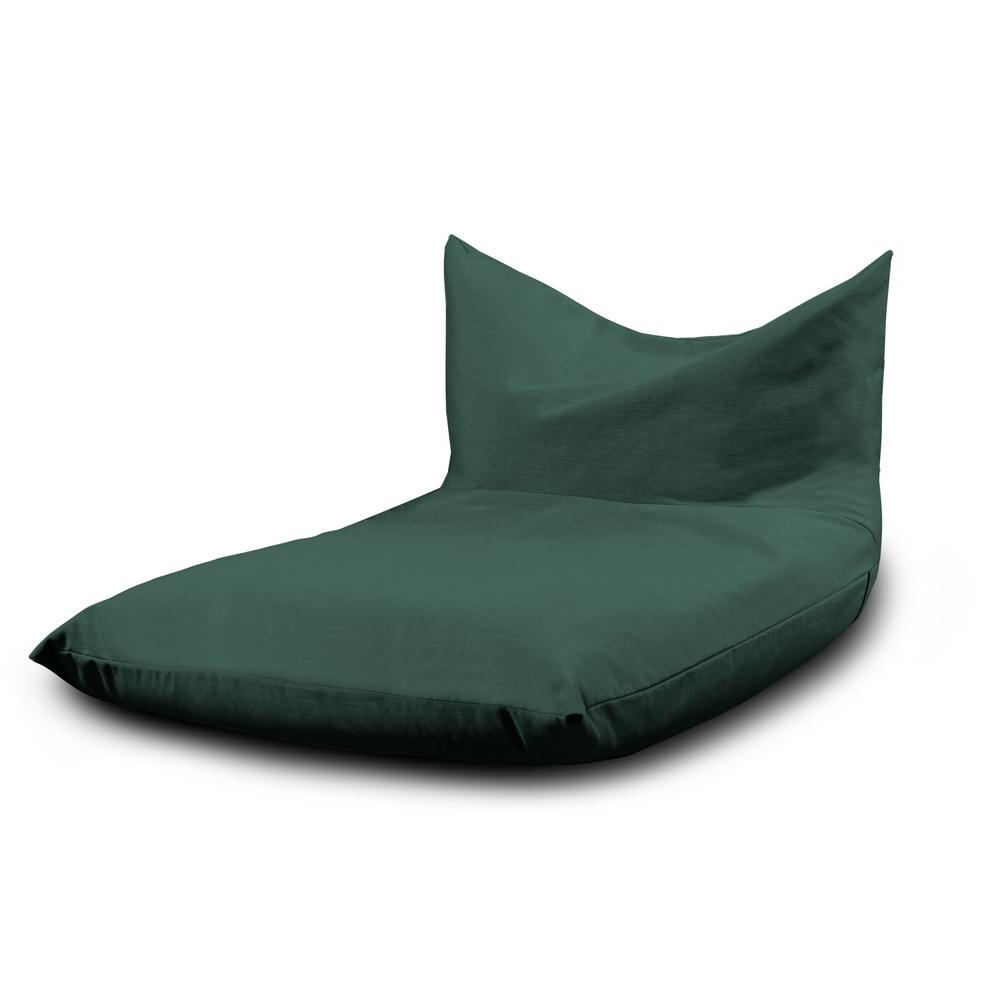 Current Jaxx Finster Breeze Armless Bean Bag Removable Cover Chaise Outdoor Lounge Chair With Sling Sunbrella Throughout Patio Bean Bag Chaise Lounges (View 16 of 25)