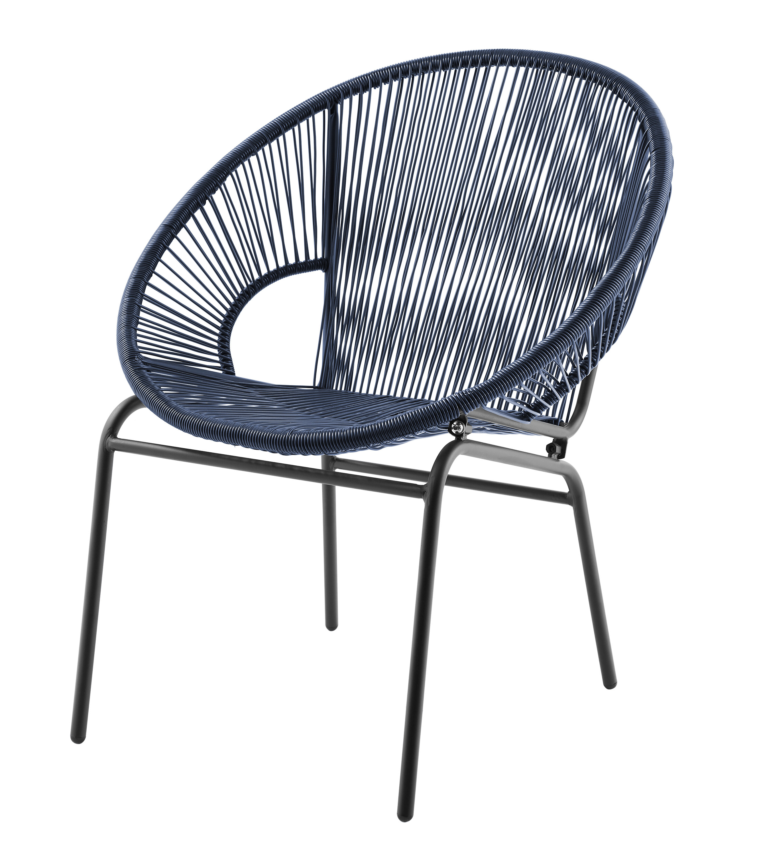 Current Wrought Studio Evelia Acapulco Papasan Chair (View 25 of 25)