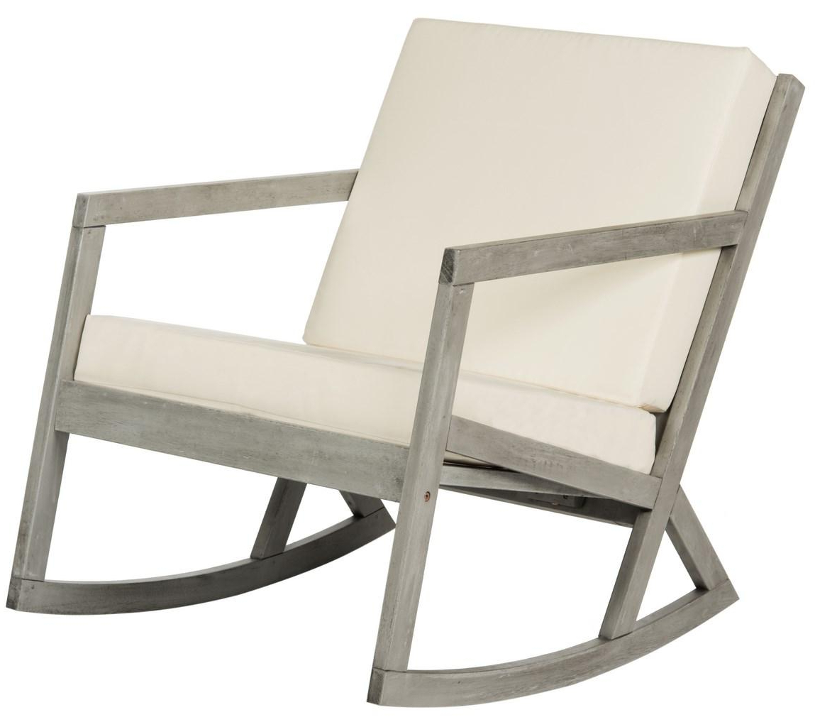 Cushioned Rocking Chair (View 11 of 25)