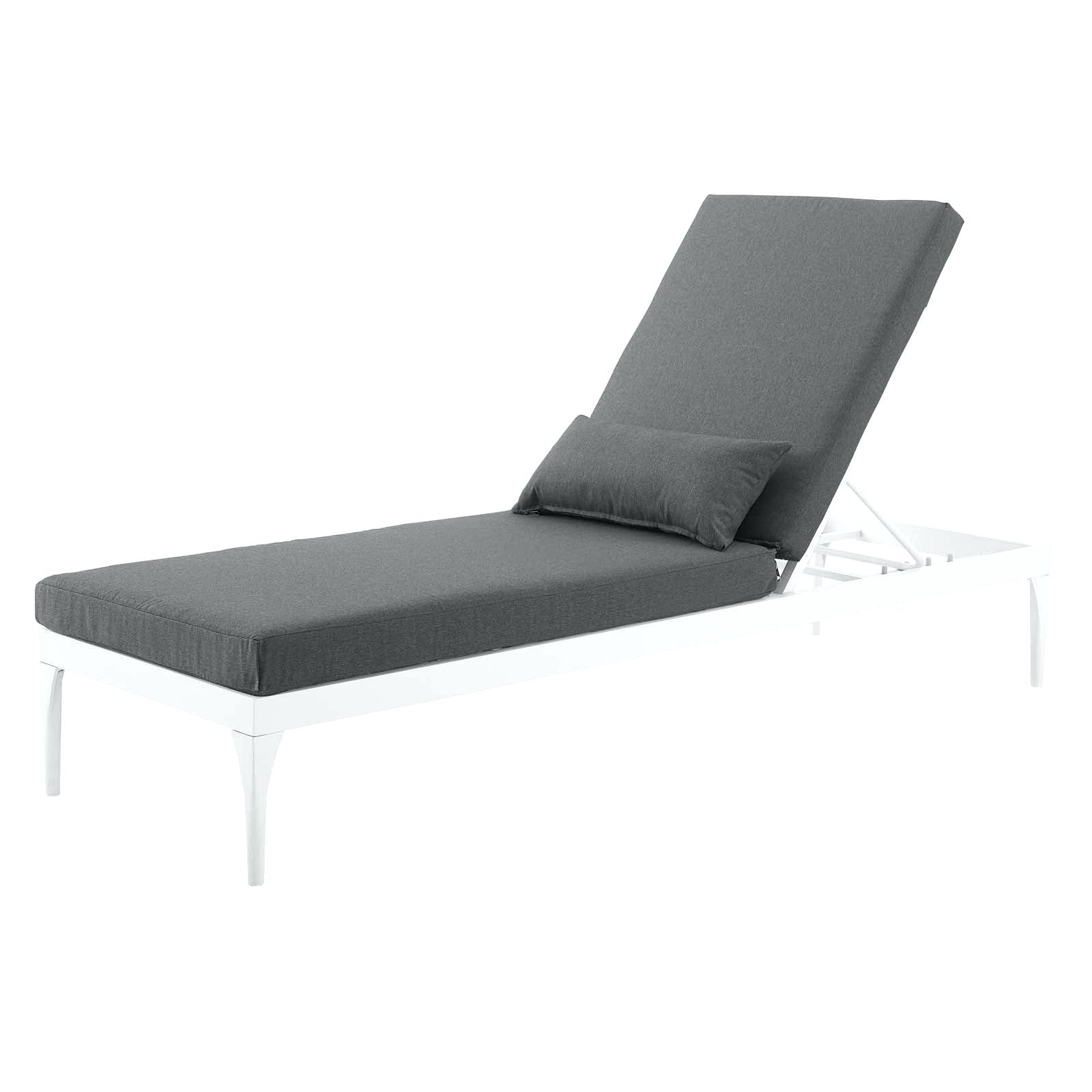 Delectable Aluminum Chaise Lounge Chair Furniture Outdoor Pertaining To Latest Floral Blossom Chaise Lounge Chairs With Cushion (View 15 of 25)