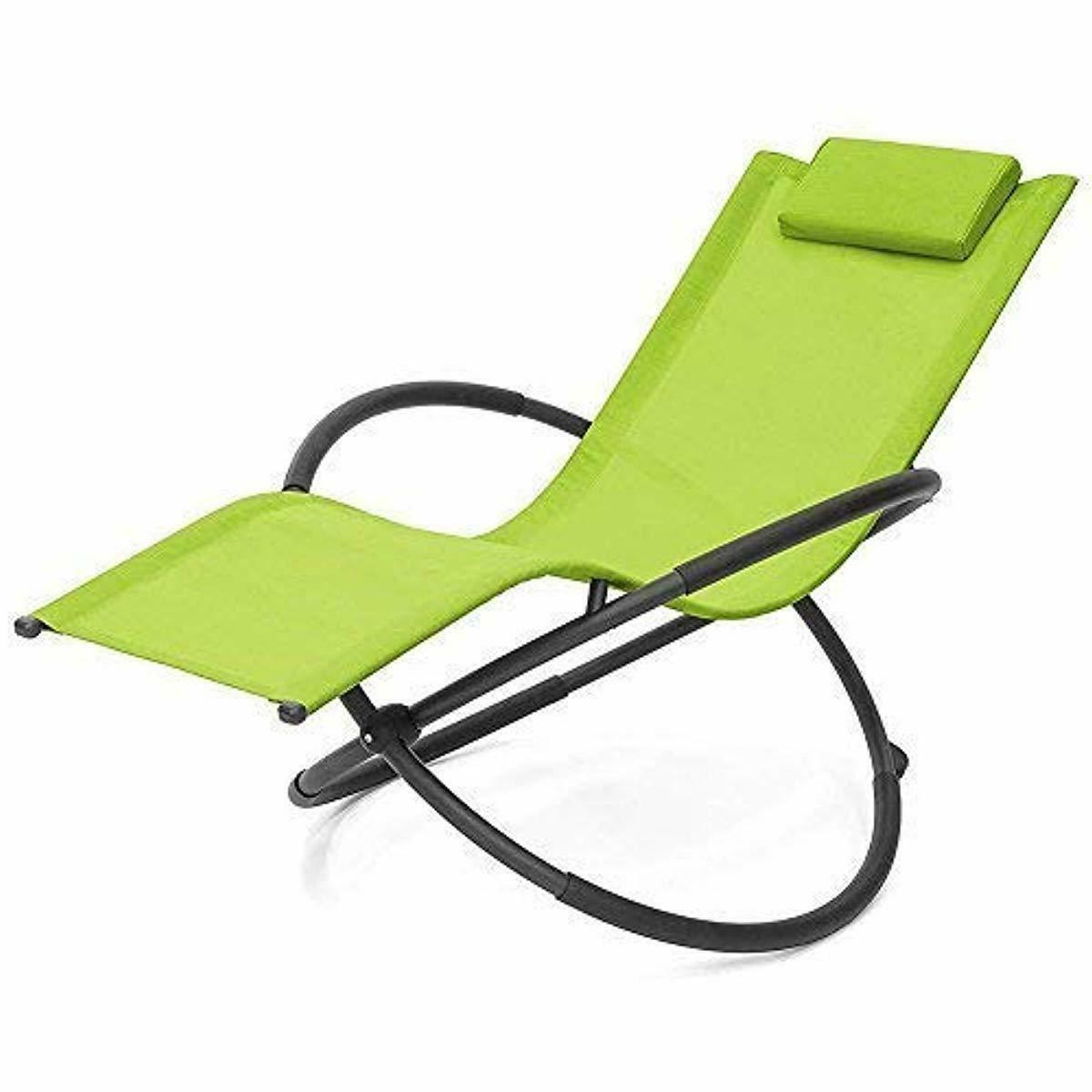 Details About Grearden Outdoor Lounge Chair Orbital Zero Gravity Patio Chaise Lounge Rocking L Within Well Liked Easy Outdoor Rocking Lounge Chairs (View 7 of 25)