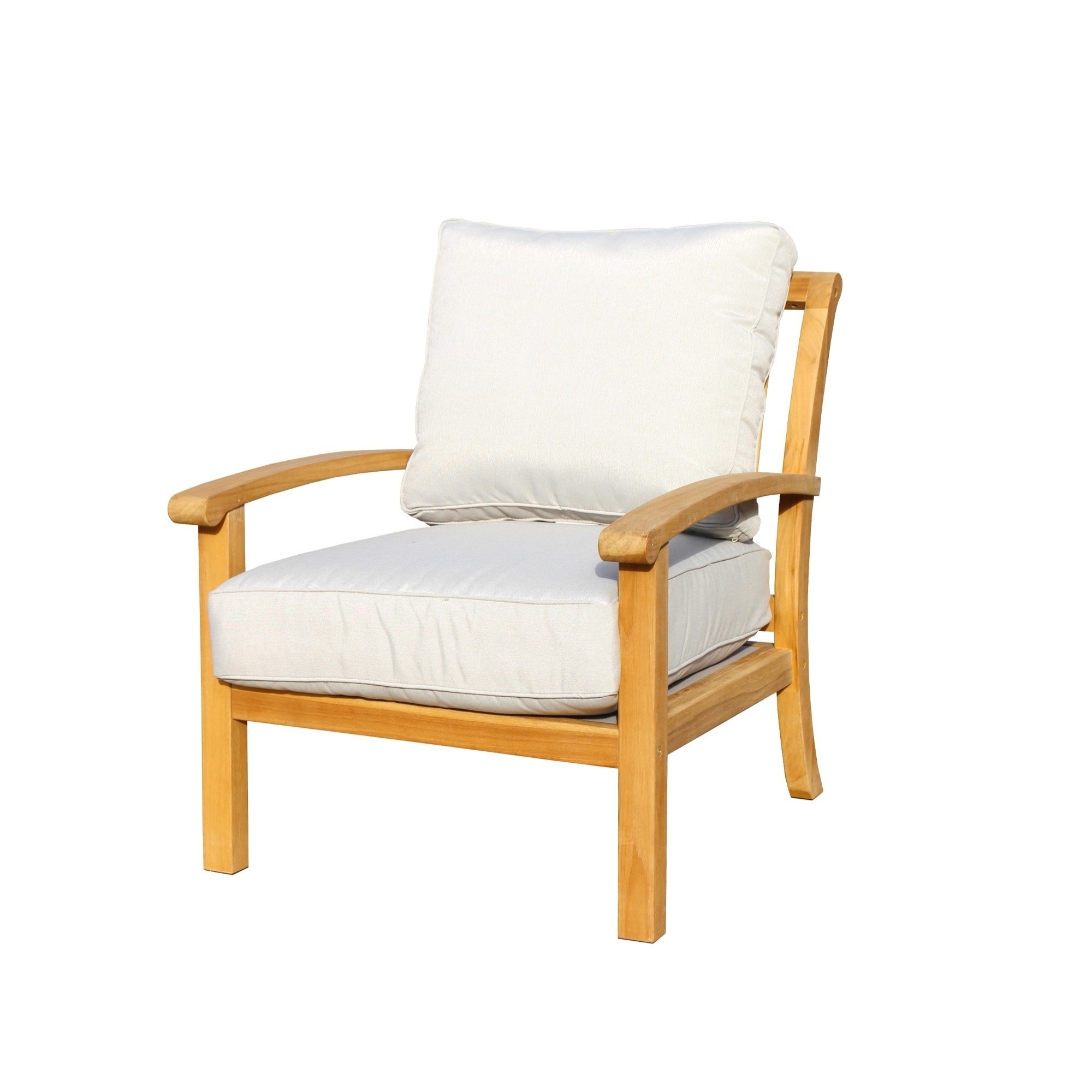 Details About Havenside Home Goodwin Natural Teak Outdoor Lounge Chair  Brown Single Throughout Preferred Havenside Home Surfside Outdoor Lounge Chairs (View 4 of 25)