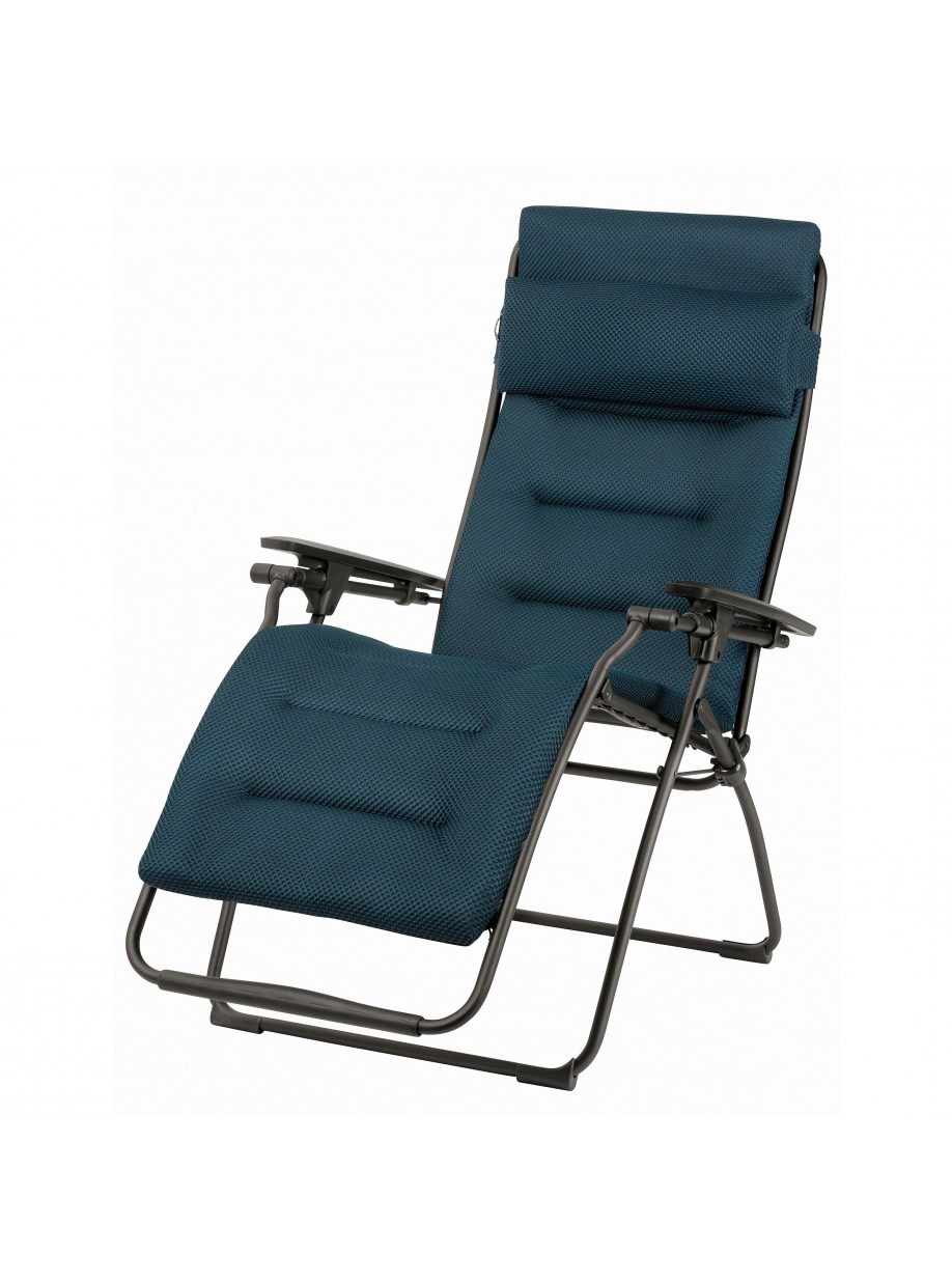 Double Reclining Lounge Chairs With Canopy Within Most Recent Lafuma Mobilier: French Outdoor Furniture Manufacturer For (View 24 of 25)