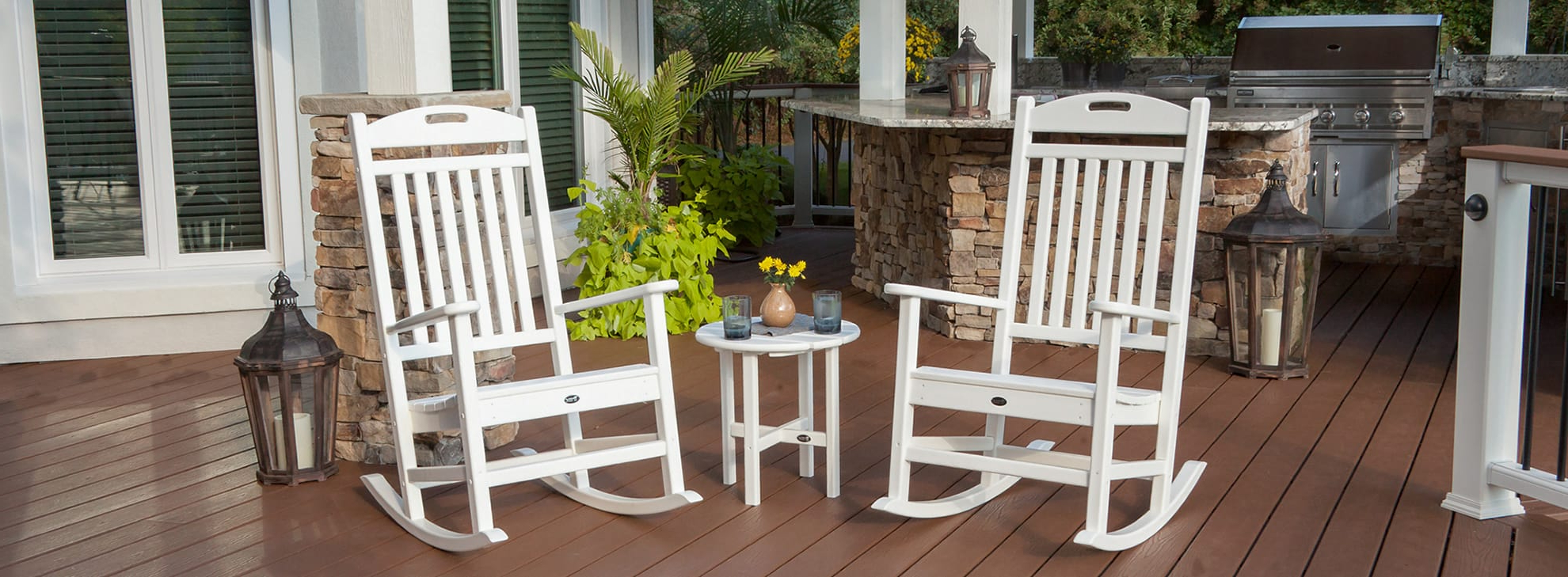 Easy Outdoor Rocking Lounge Chairs Within Well Known Outdoor Composite Furnituretype (Gallery 14 of 25)