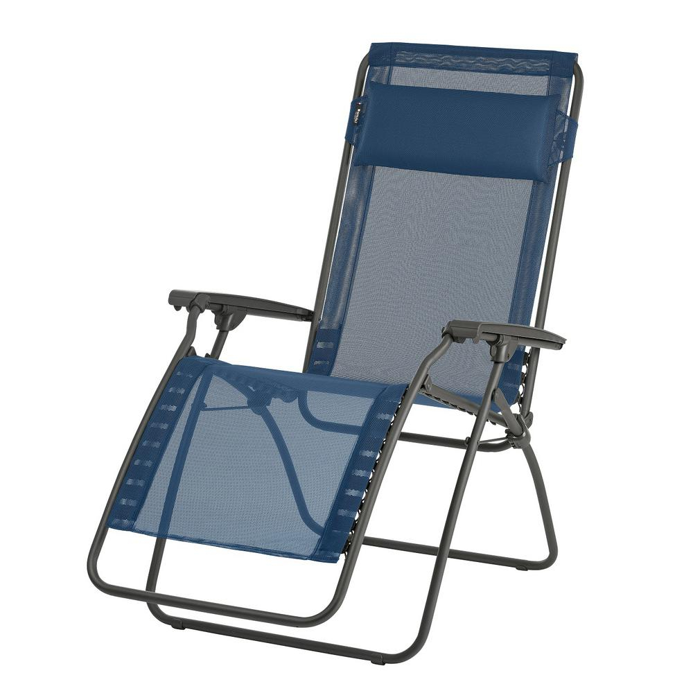 Famous Extra Wide Recliner Lounge Chairs Inside Lafuma Furniture R Clip In Ocean (Blue) Color With Steel Frame Folding Zero  Gravity Reclining Lawn Chair (View 14 of 25)