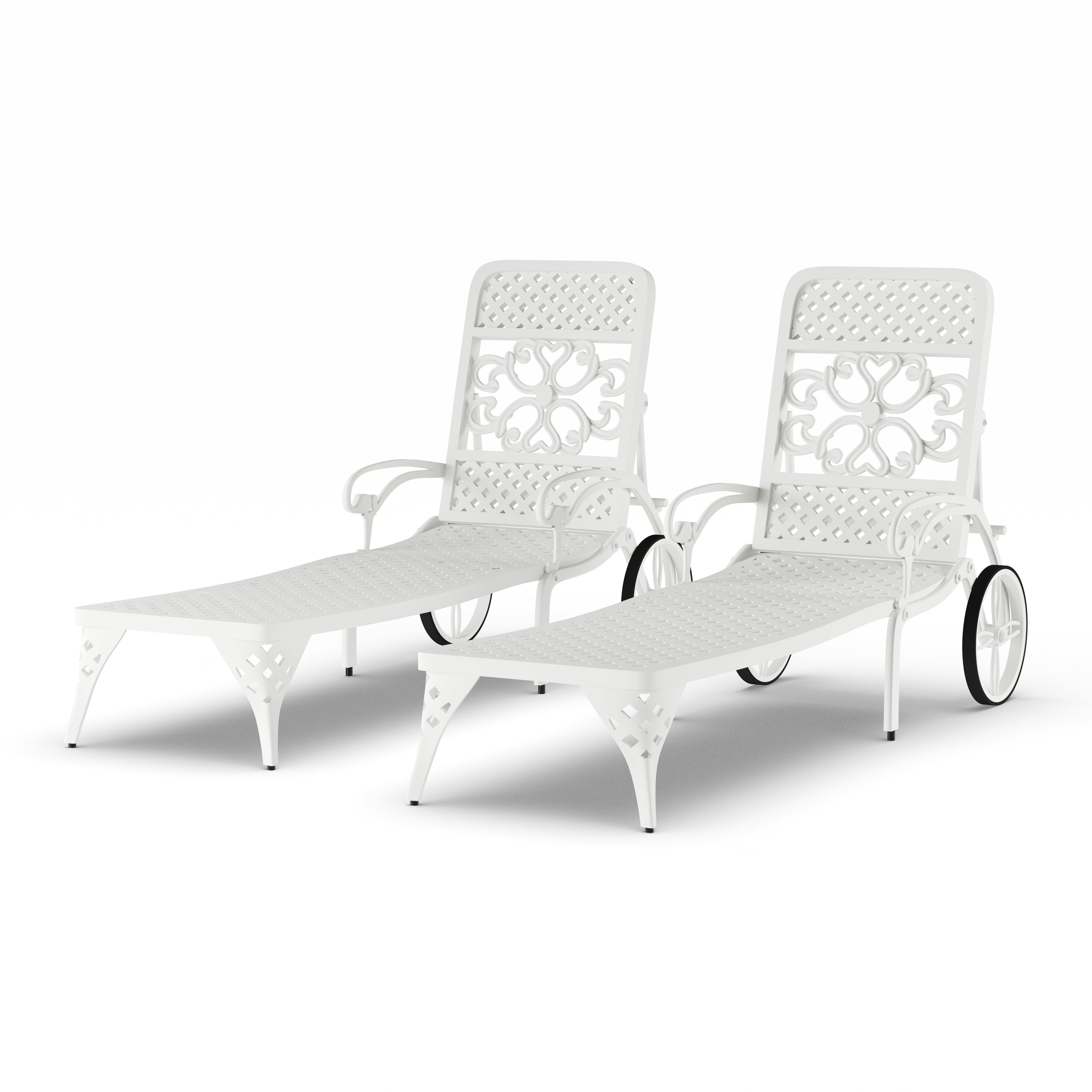 Famous Havenside Home Fenwick Chaise Lounge Chairs (set Of 2) Inside Havenside Home Fenwick Chaise Lounge Chairs (View 4 of 25)