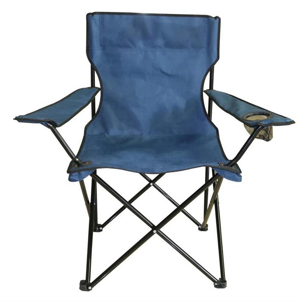 Famous Iron Frame Locking Portable Folding Chairs With Proht Navy Blue Mesh Folding Chair For Outdoor Events (View 24 of 25)