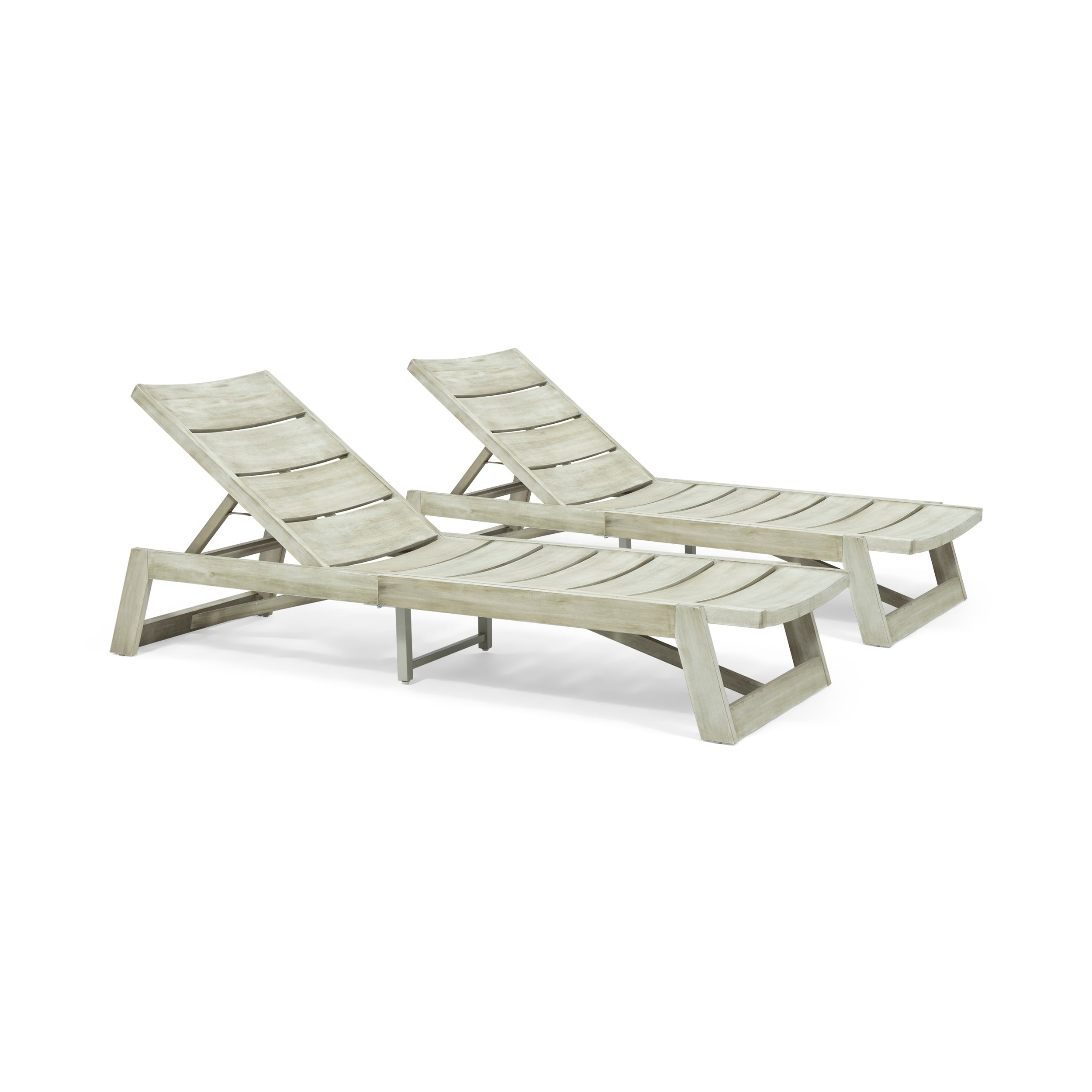 Famous Maki Outdoor Wood And Iron Chaise Lounges (Set Of 2)Christopher Knight Home For Maki Outdoor Wood Chaise Lounges (View 8 of 25)