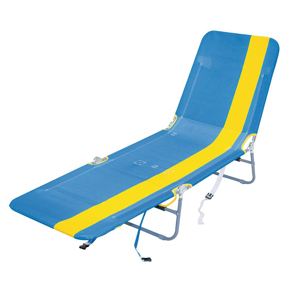 Famous Rio Beach Metal Folding Backpack Beach Chair Lounger For 3 Position Portable Folding Reclining Beach Chaise Lounges (View 20 of 25)