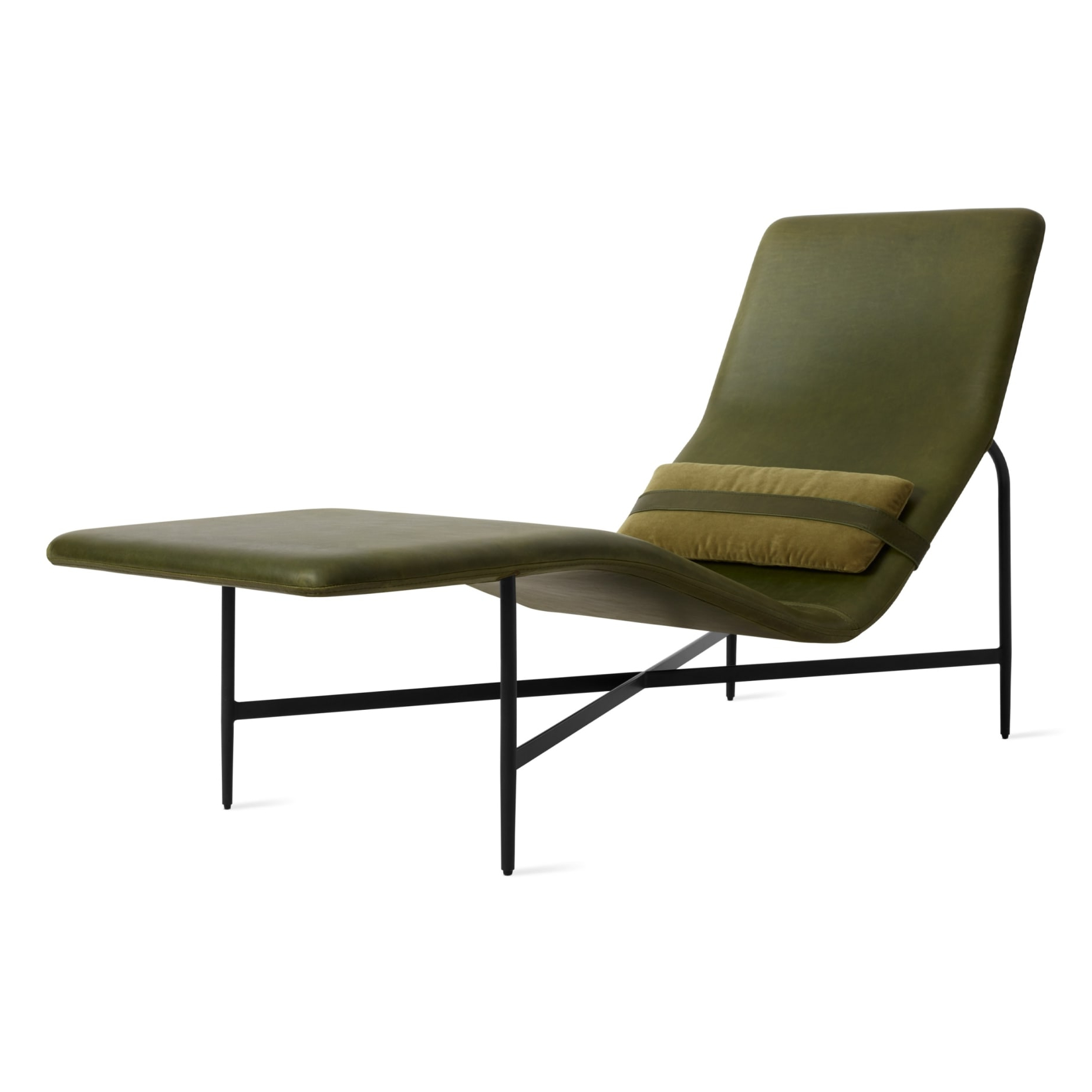 Famous Standard Size Chaise Lounge Chairs In Deep Thoughts Leather Chaise (View 24 of 25)