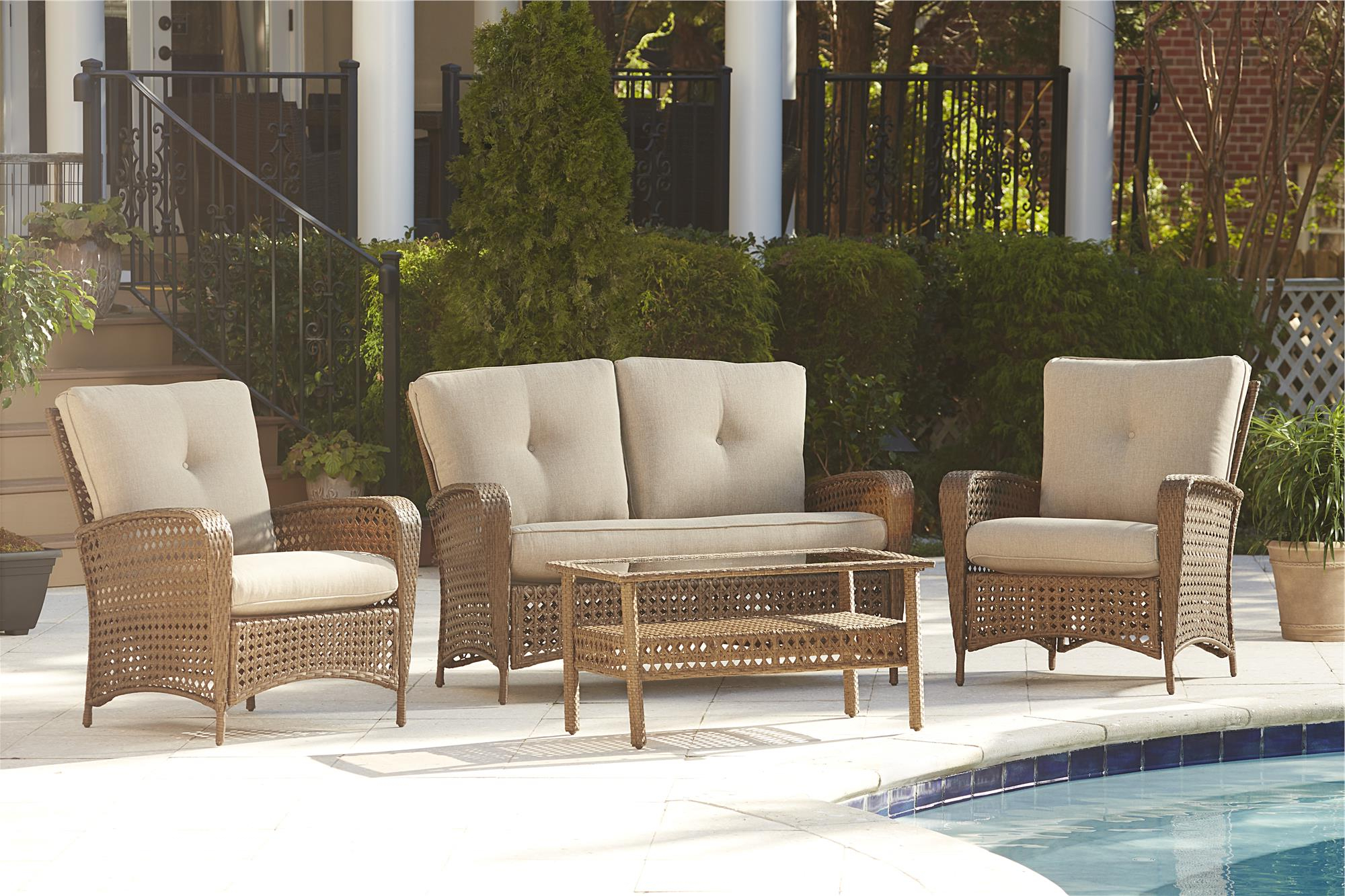 Fashionable Cosco Outdoor Steel Woven Wicker Chaise Lounge Chairs Regarding Cosco Outdoor Products (View 11 of 25)