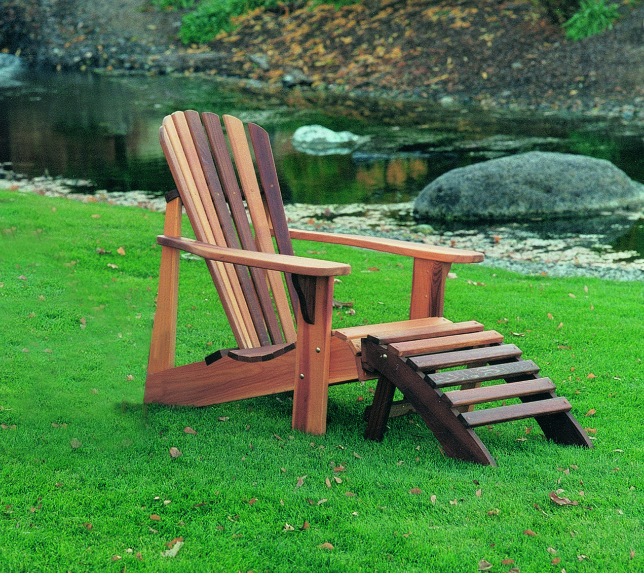 Fashionable T&l Adirondack Chair Regarding Adirondack Chairs With Footrest (View 14 of 25)