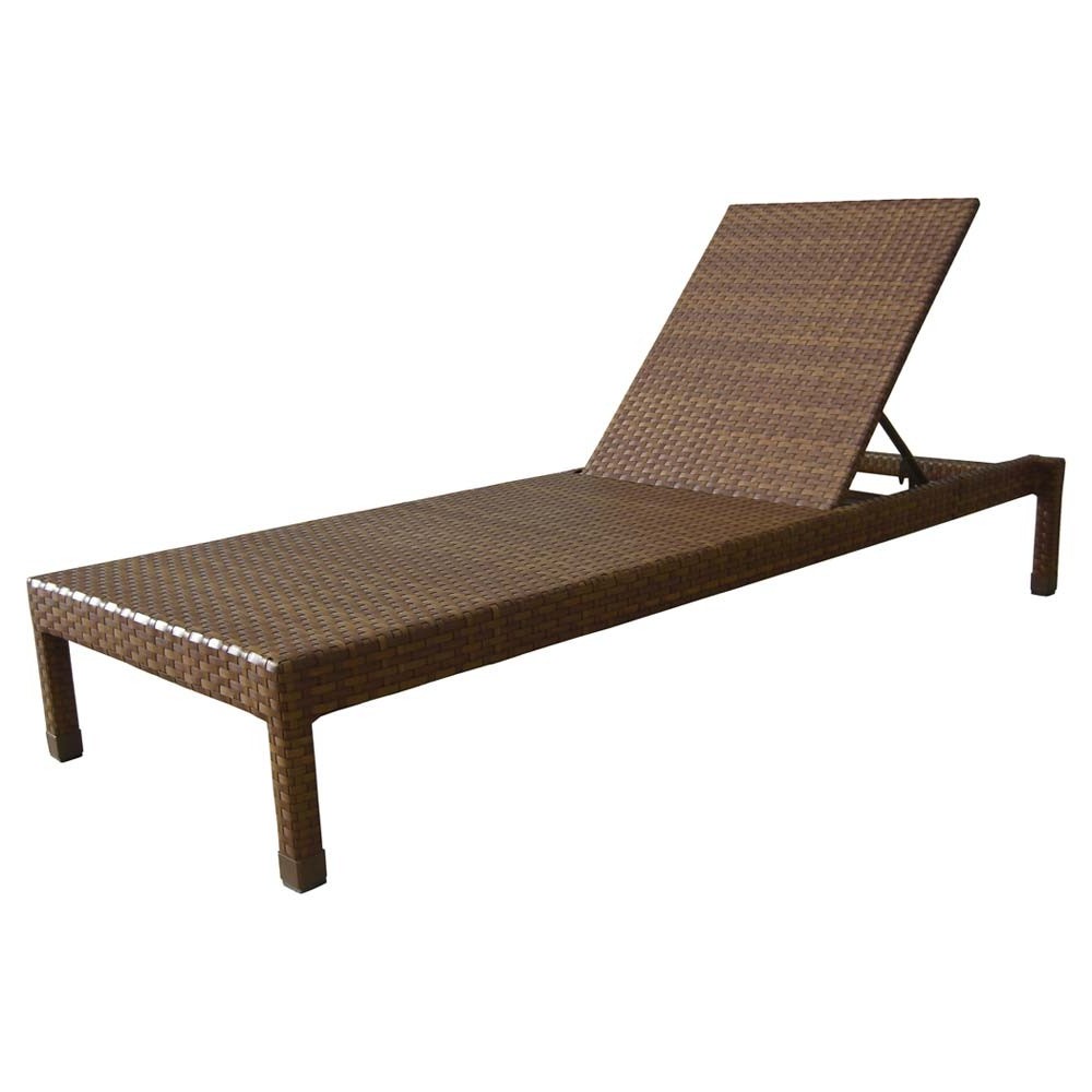 Favorite 57 Wicker Chaise Lounge, Whitecraftwoodard Saddleback With Regard To All Weather Rattan Wicker Chaise Lounges (View 15 of 25)