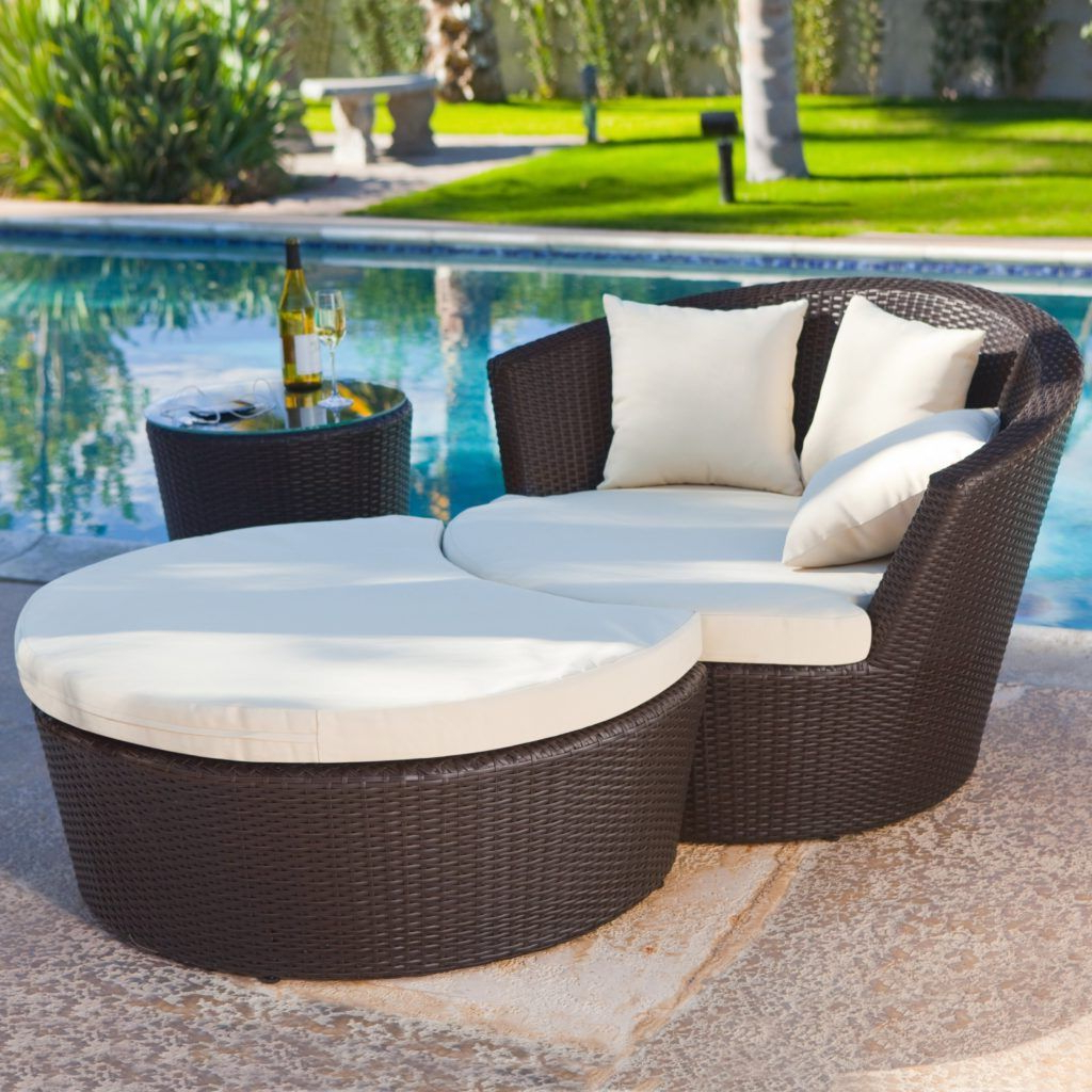 Featured Photo of Outdoor Patio Lounge Chairs with Ottoman