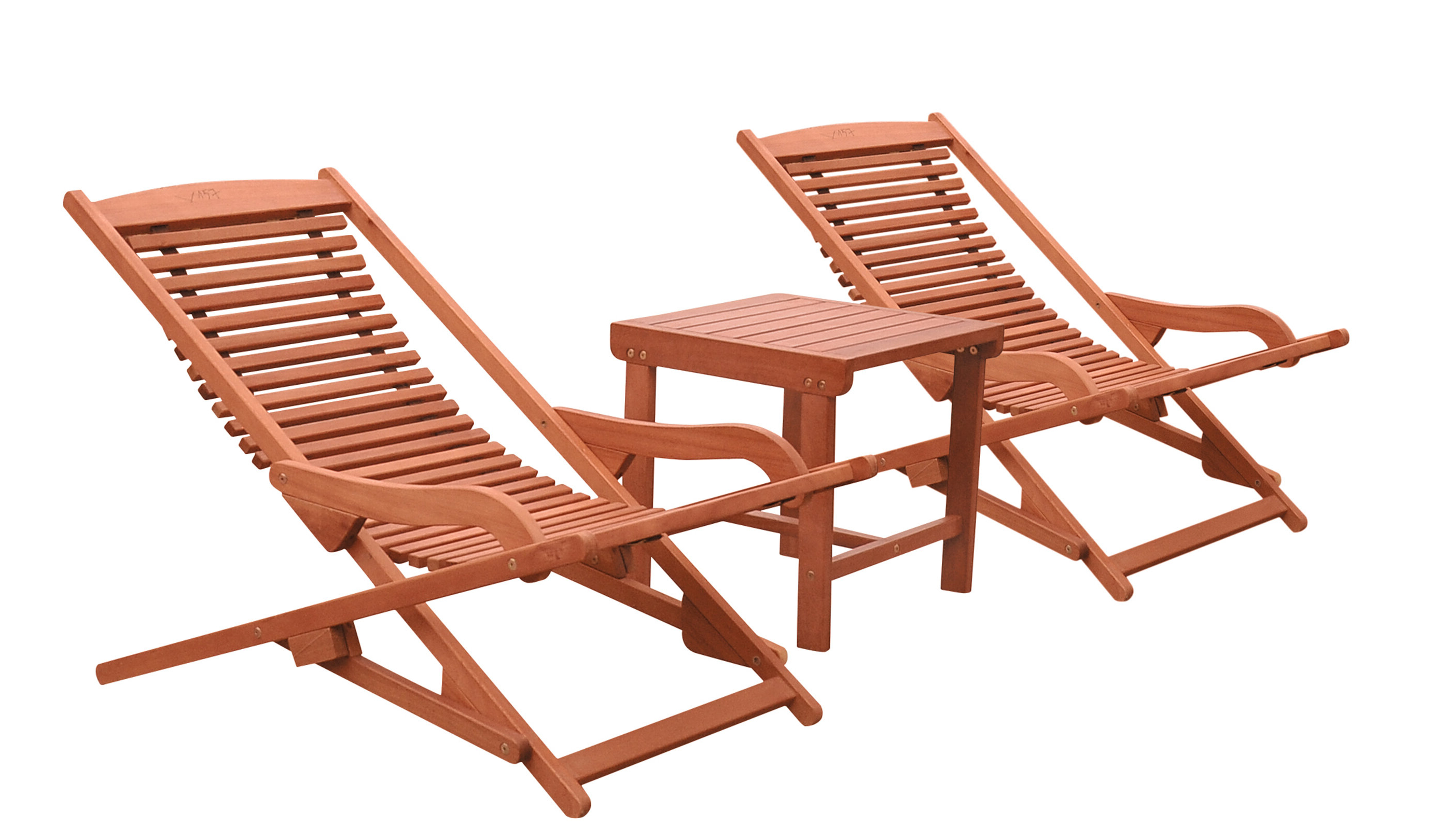 Favorite Outdoor Yard Pool Recliner Folding Lounge Table Chairs For Beachcrest Home Monterry Reclining Chaise Lounge Set With (View 24 of 25)