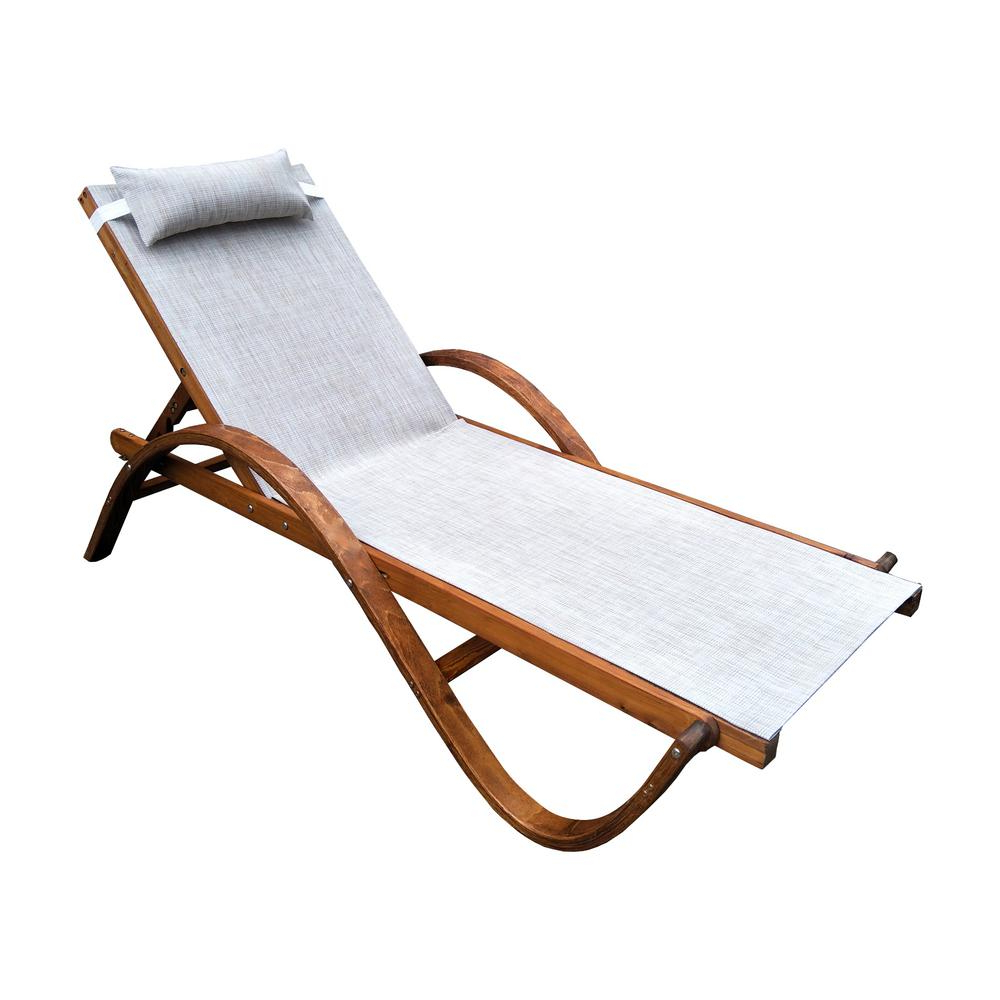 Featured Photo of Reclining Sling Chaise Lounges