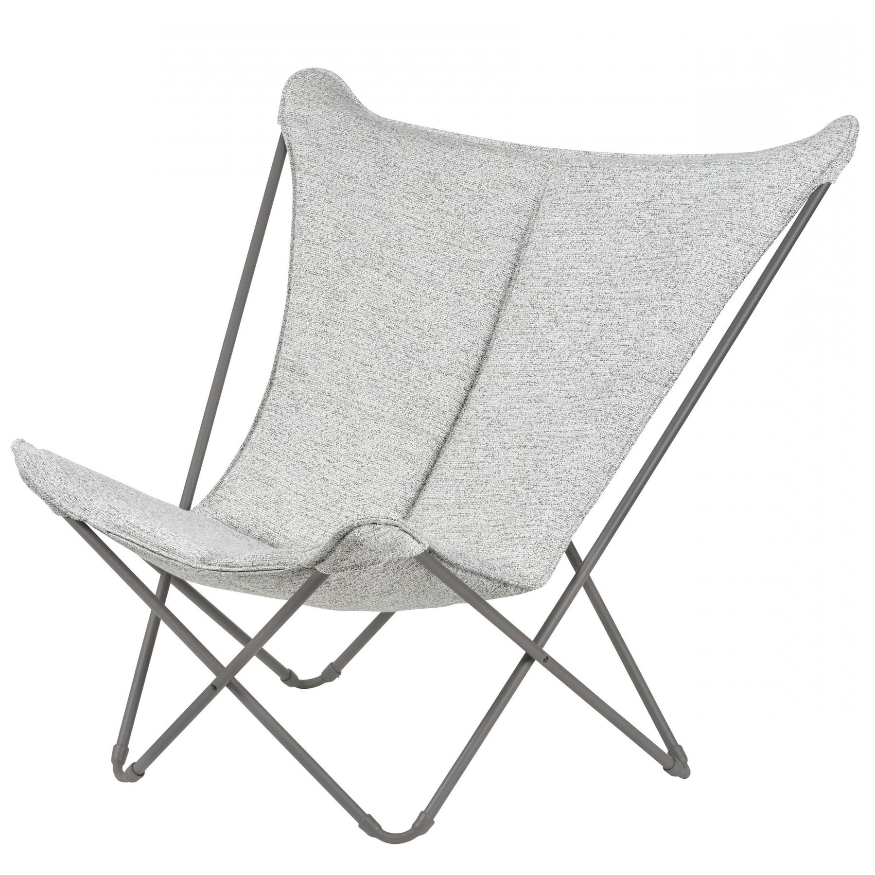 Folding Lounge Chair Sphinx Sunbrella Tundra (View 11 of 25)