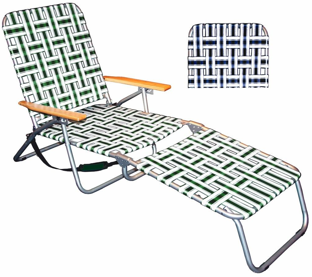 Folding Lounge Chair,portable Beach Chair (View 5 of 25)