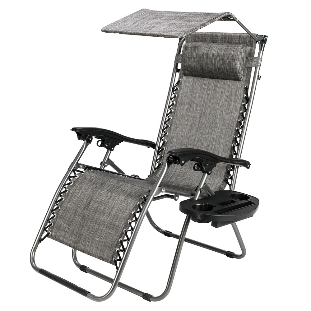 Featured Photo of Folding Patio Lounge Beach Chairs With Canopy