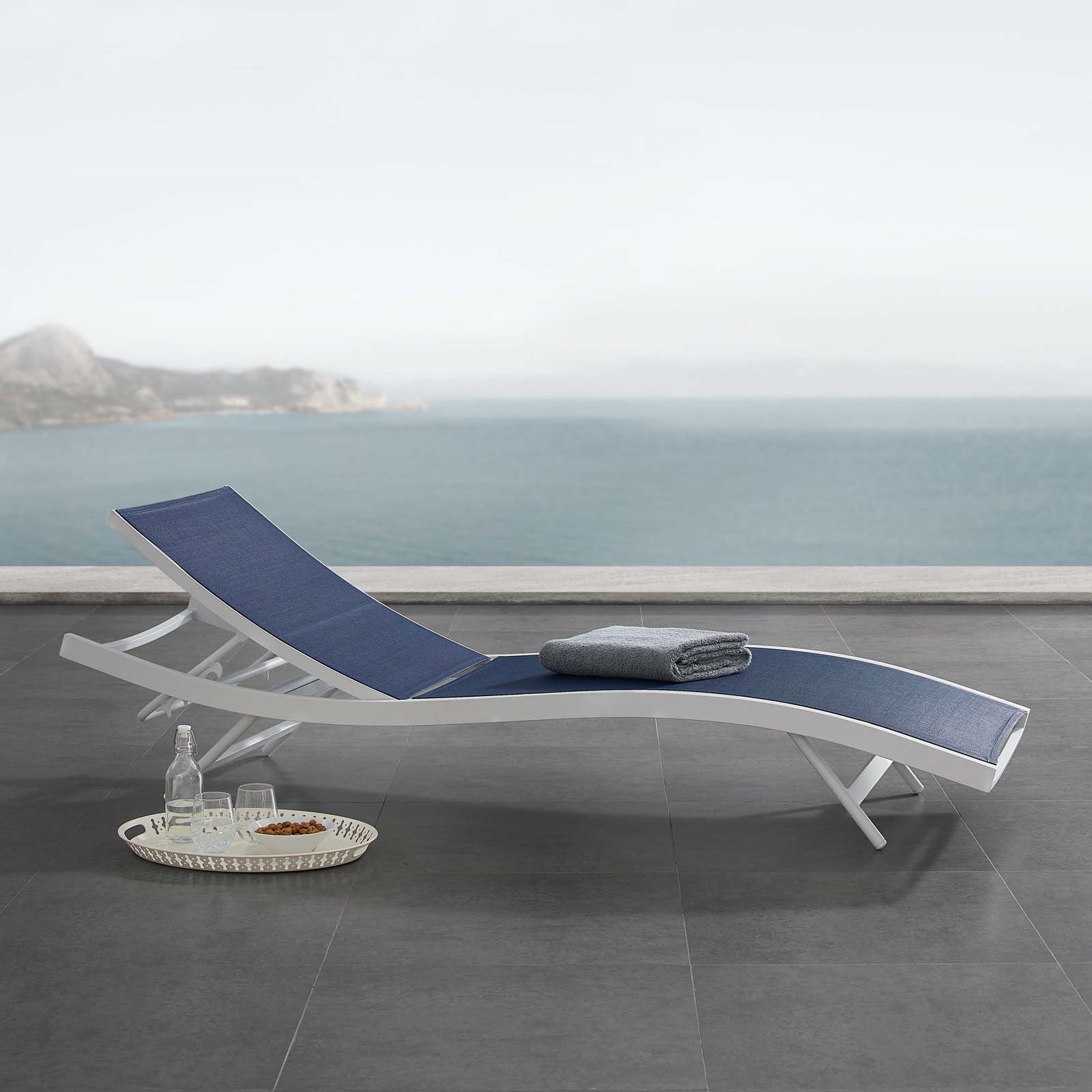 Glimpse Outdoor Patio Mesh Chaise Lounge Chair For Best And Newest Glimpse Outdoor Patio Mesh Chaise Lounge Chairs (Gallery 3 of 25)