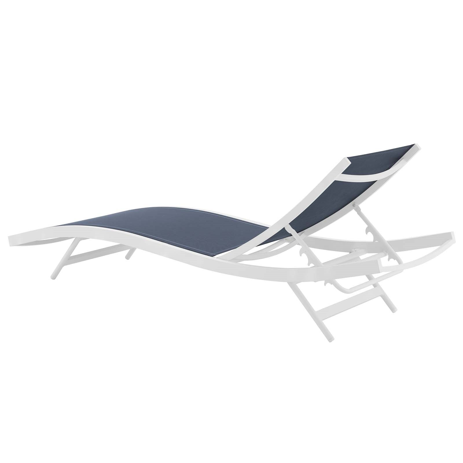 Glimpse Outdoor Patio Mesh Chaise Lounge Chairs Regarding Most Recently Released Glimpse Outdoor Patio Mesh Chaise Lounge Chair (View 5 of 25)