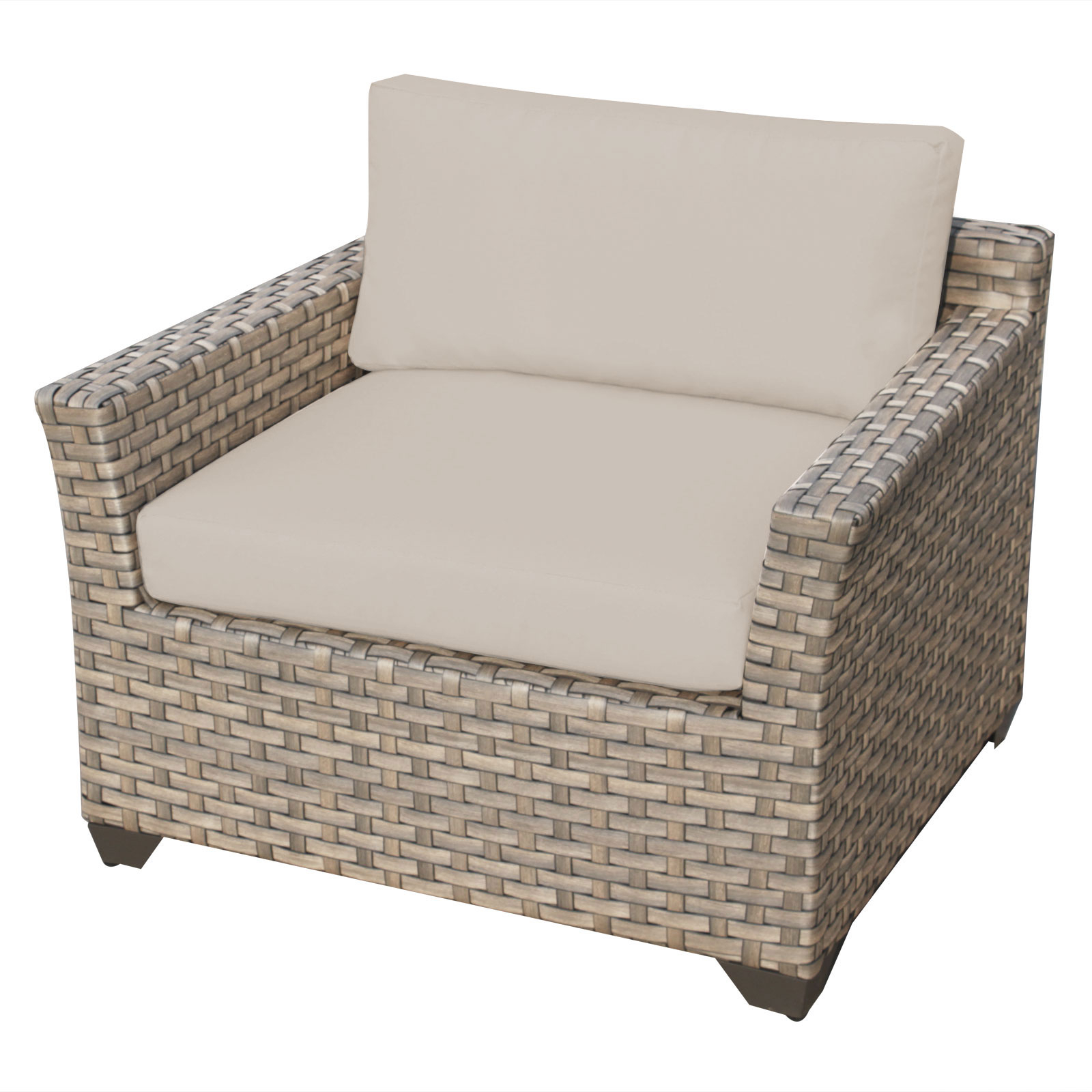 Hampton 13 Piece Outdoor Wicker Patio Furniture Set 13a Pertaining To Widely Used Outdoor 13 Piece Wicker Patio Sets With Cushions (View 17 of 25)