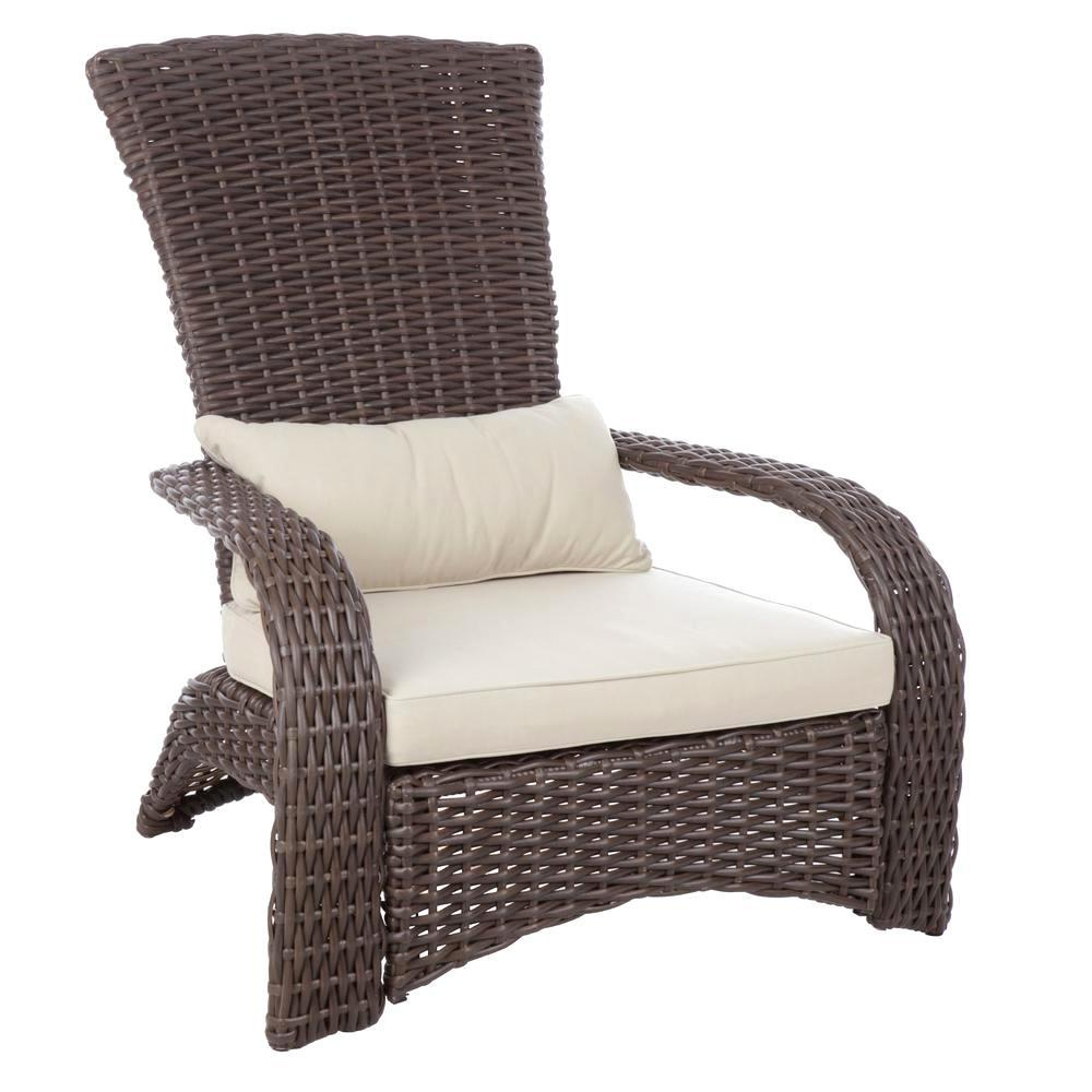 Havenside Home Cambridge Bay Chaise Lounges With Cushions In Popular All Weather Wicker Chairs – Eamo (View 22 of 25)