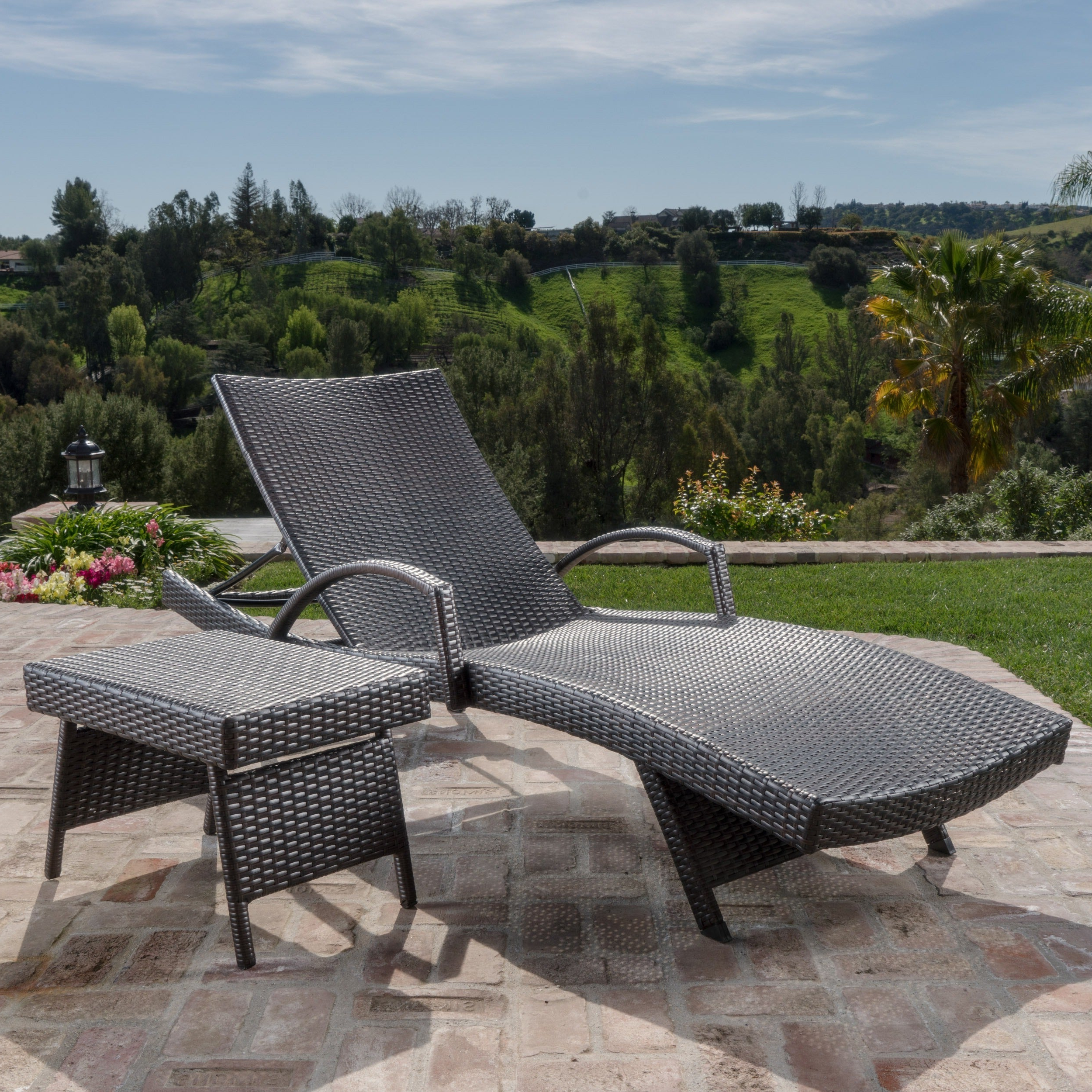 Havenside Home Surfside Relaxer Chaise Lounges Intended For Preferred Toscana Outdoor 2 Piece Wicker Armed Chaise Lounge Setchristopher Knight Home (View 15 of 25)