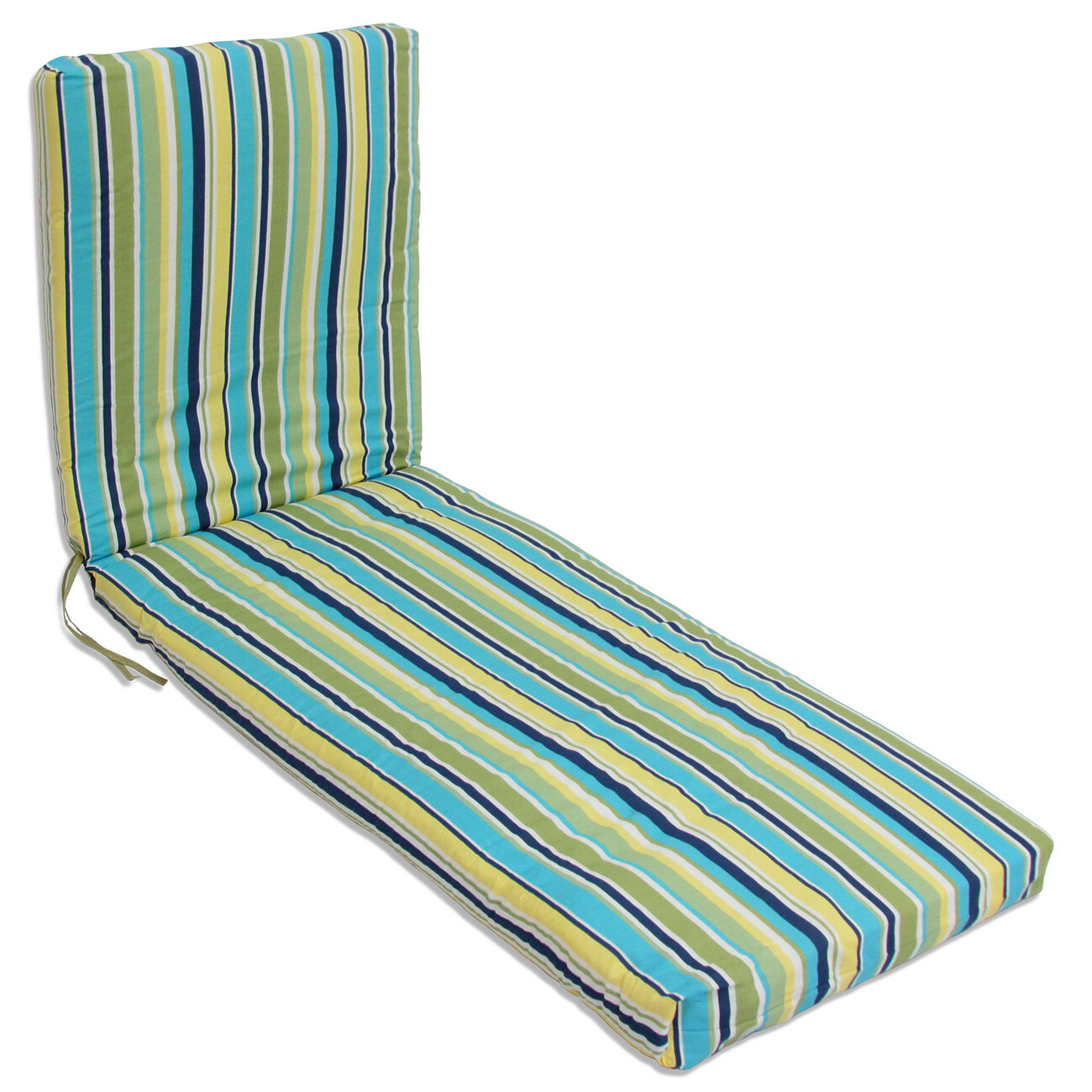 Indoor/outdoor Chaise Lounge Cushion In Recent Indoor Outdoor Textured Bright Chaise Lounges With Sunbrella Fabric (Gallery 16 of 25)